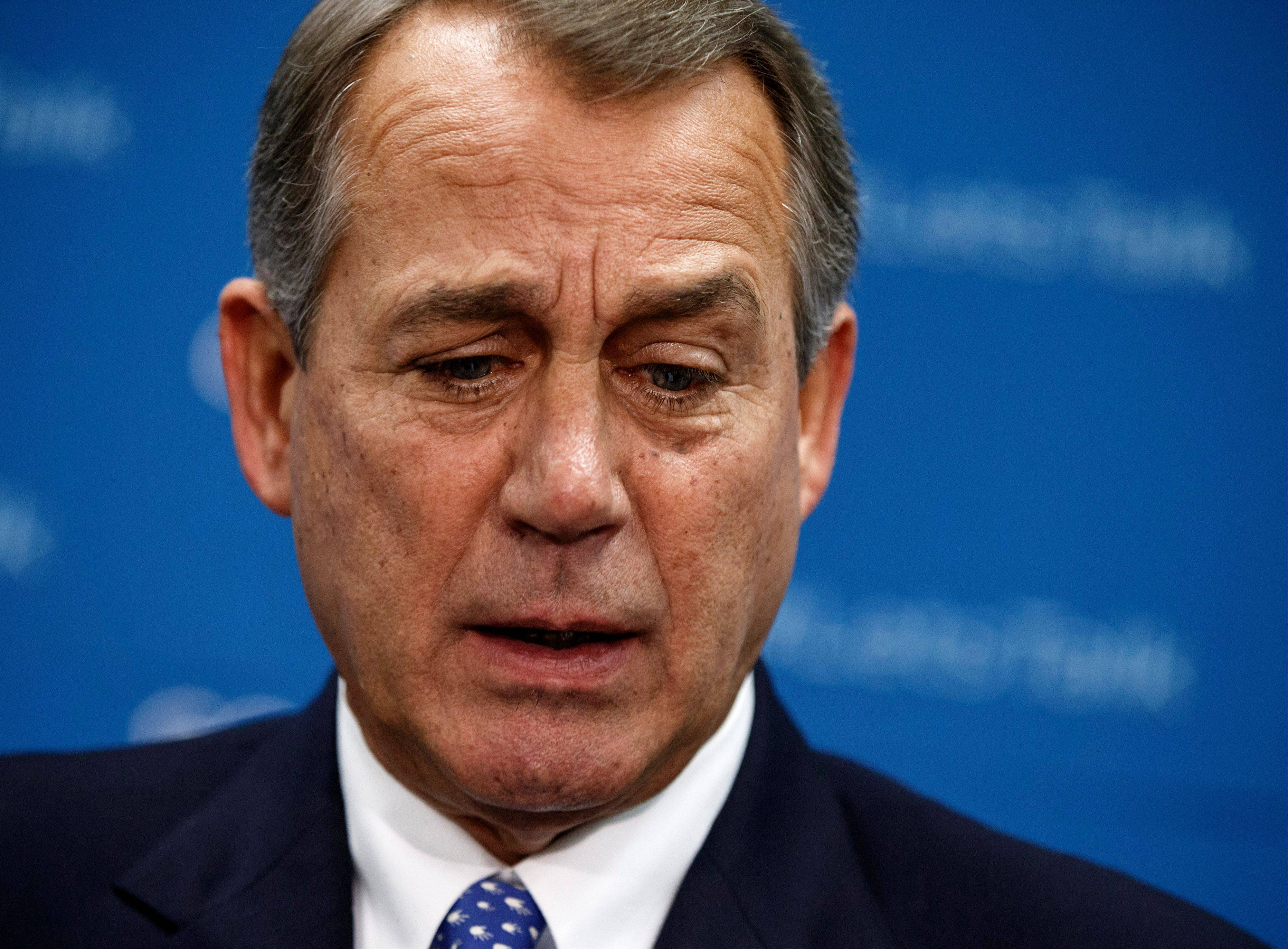 Obama, Boehner trade barbs, hints of compromise