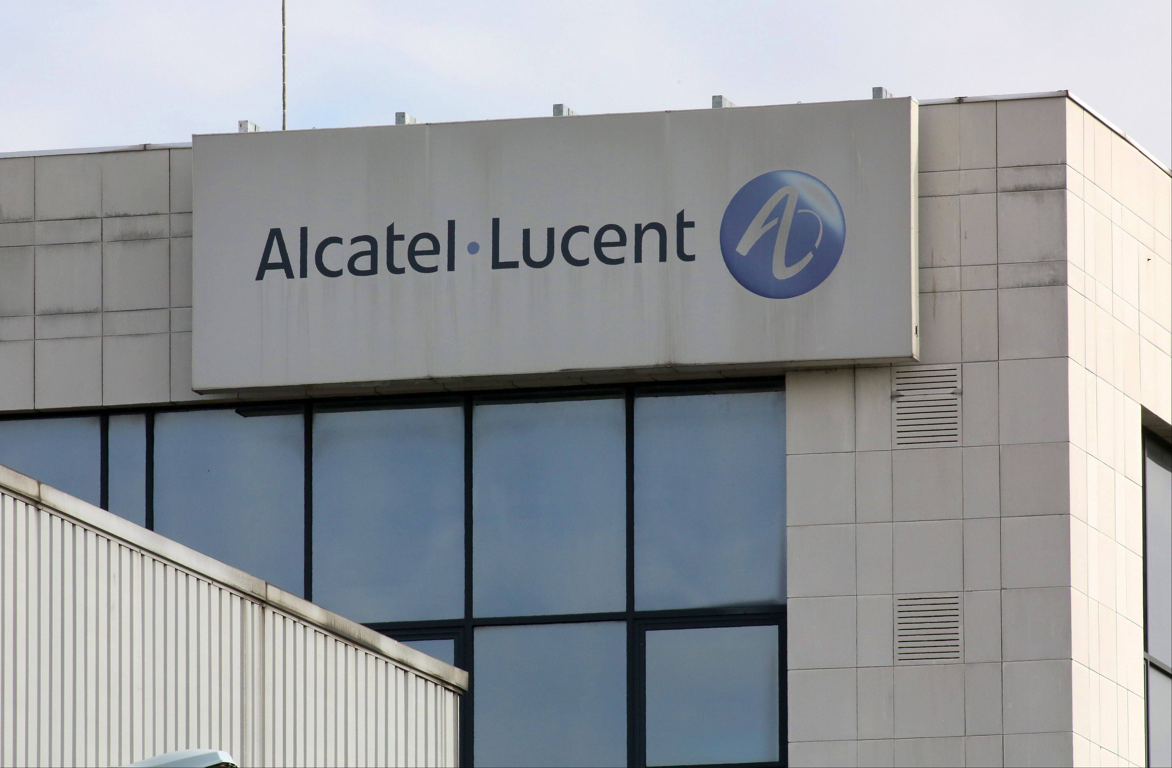 Alcatel-Lucent unit in Colombes, north of Paris.