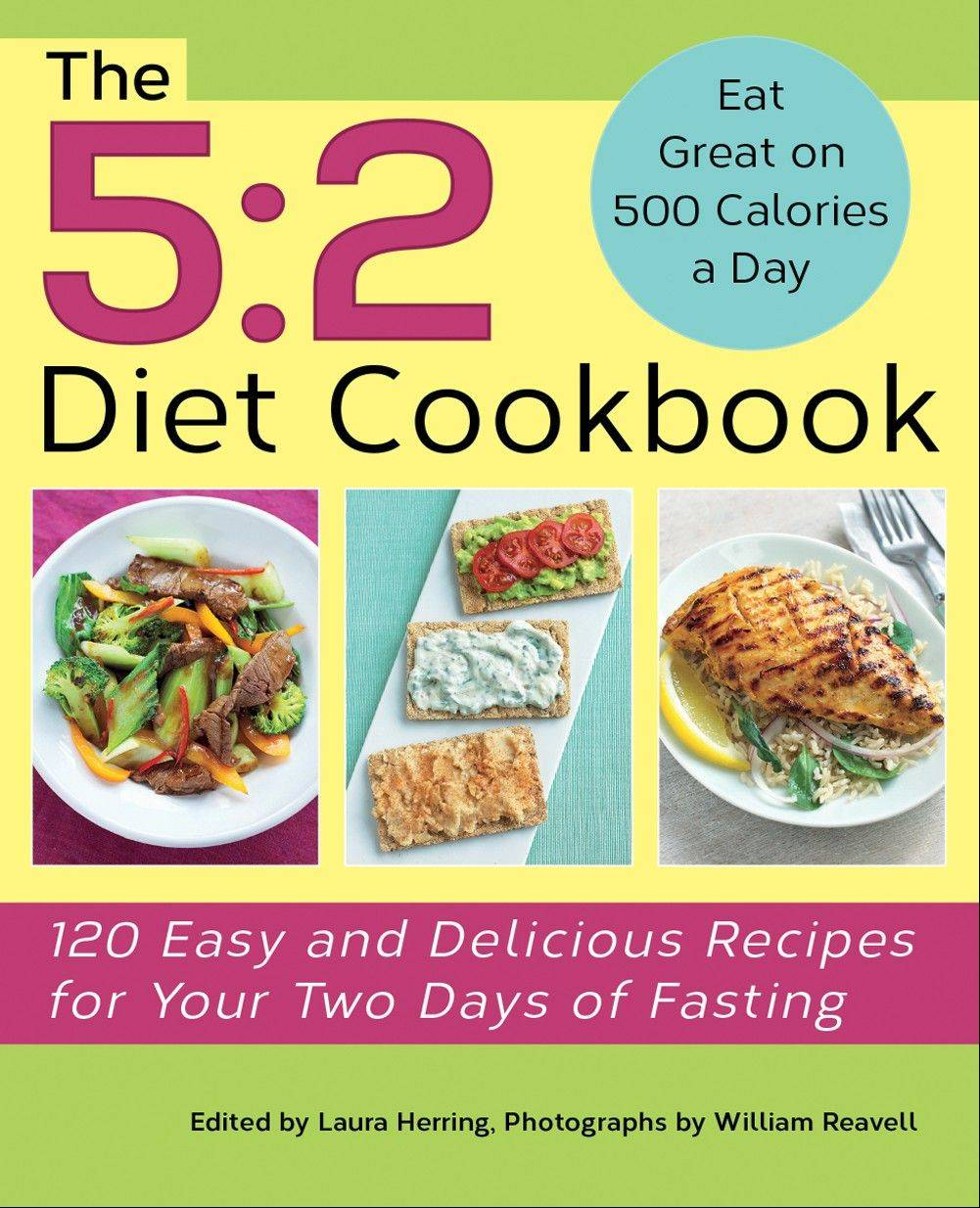 """The 5:2 Diet Cookbook"" by Kate Harrison"
