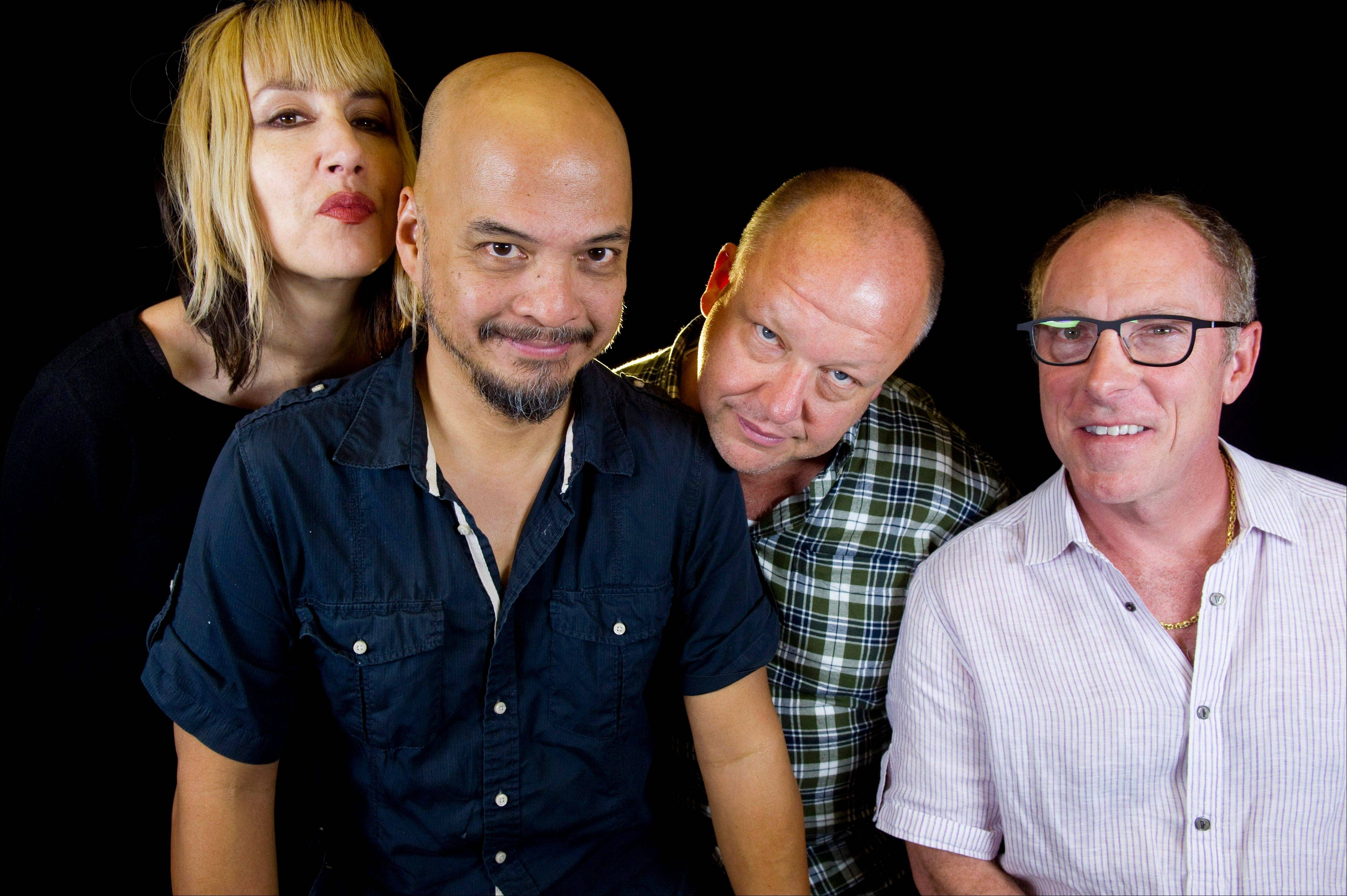 The Pixies — Kim Shattuck, left, Joey Santiago, Black Francis and David Lovering — added a 33-city, North American leg to their global tour on Monday. They'll stop at the Riviera Theatre in Chicago on Sunday, Feb. 9.