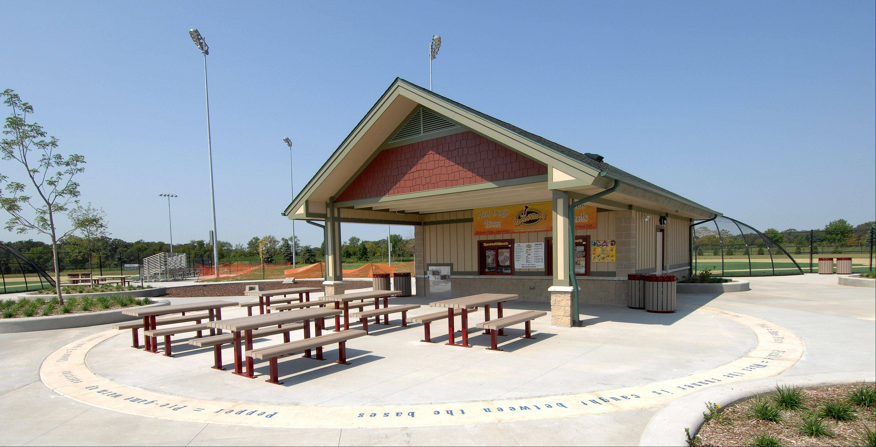 The Carol Stream Park District might put alcoholic drinks on the menu at McCaslin Park.