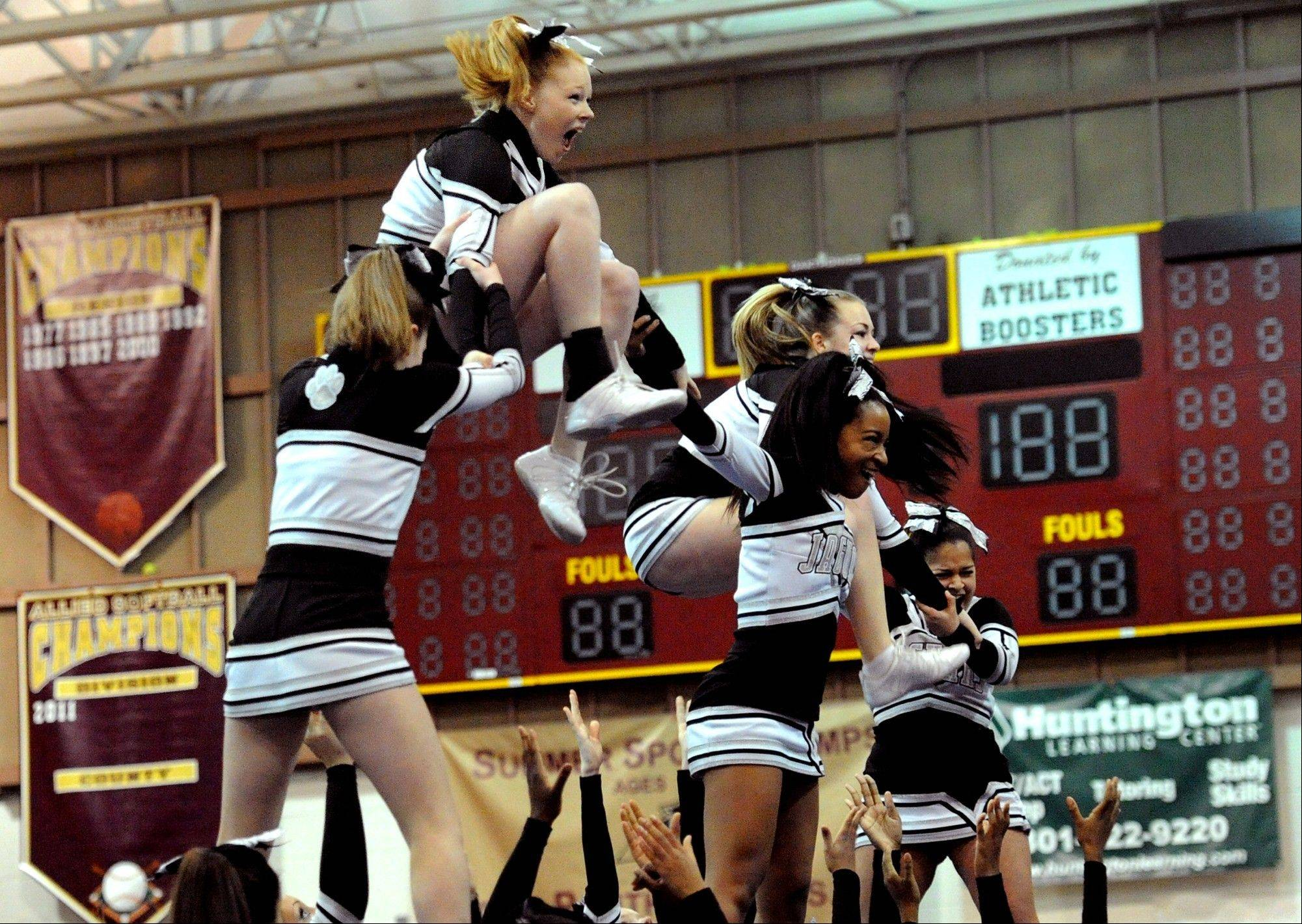 Cheerleading causes the largest number of catastrophic injuries among girls and young women.