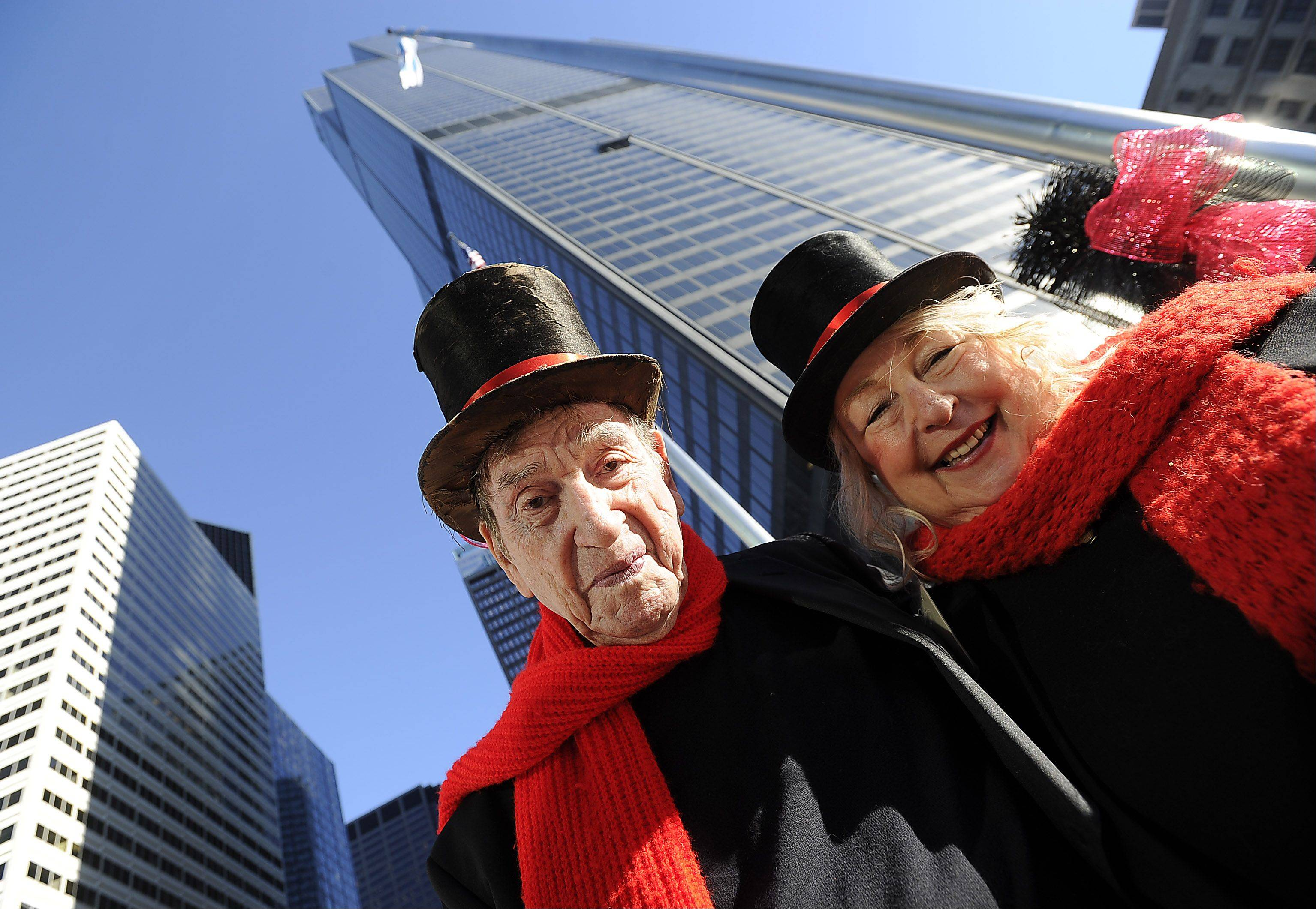 The old Sears Tower has a new name, and David and Dee Stoll of Roselle are 35 years older than the day they married on top of the tower in 1978. But their love and joy for life remain fresh, say the couple, who renewed their vows on top of the Willis Tower Tuesday.