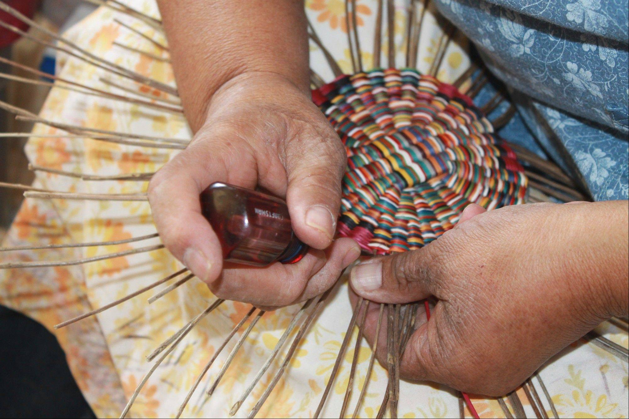 """The Hopi Way: A Week on the Reservation"" includes photos of Native American artwork and crafts."
