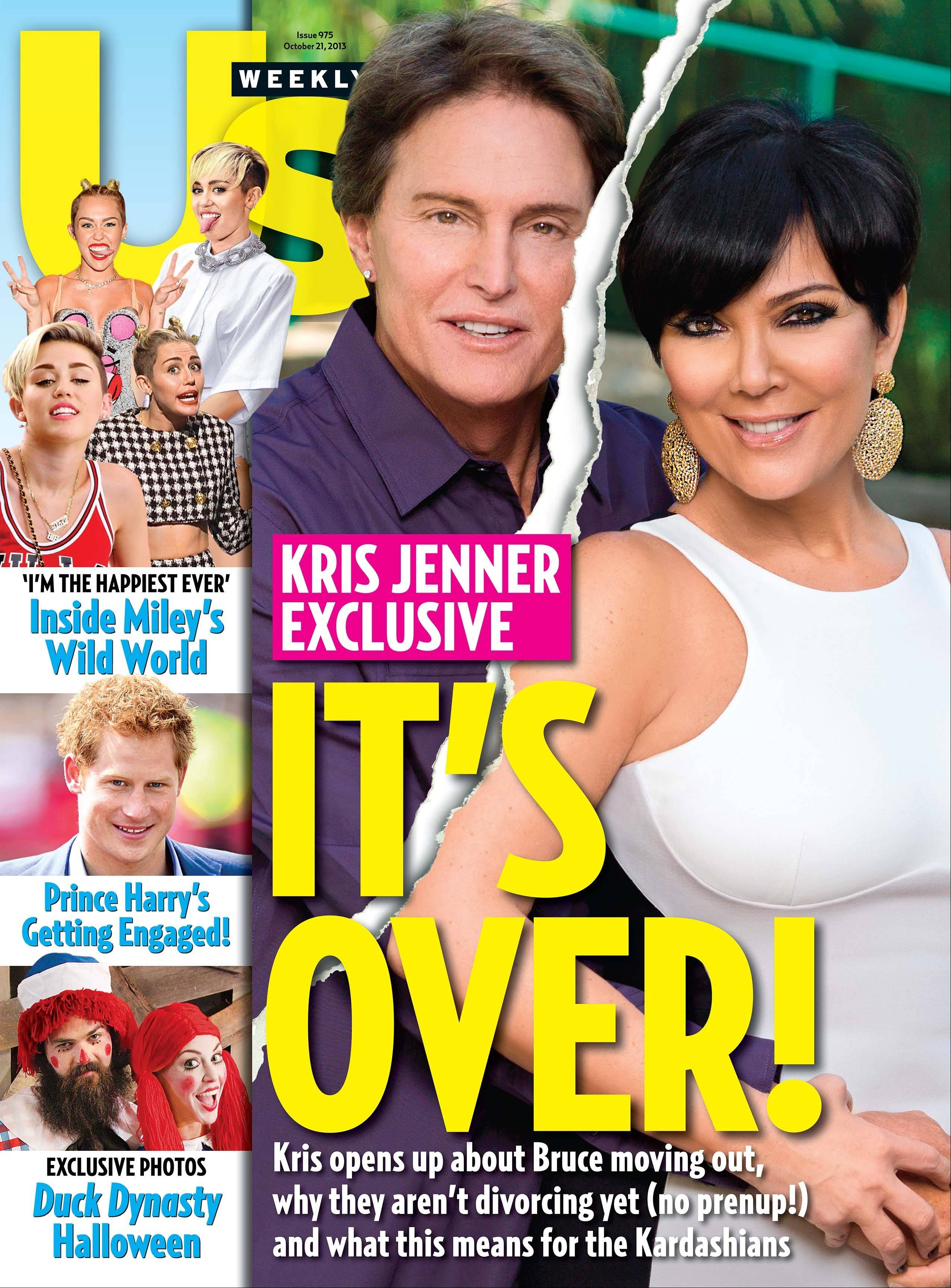 Bruce and Kris Jenner have confirmed they�ve split and have been separated for a year.