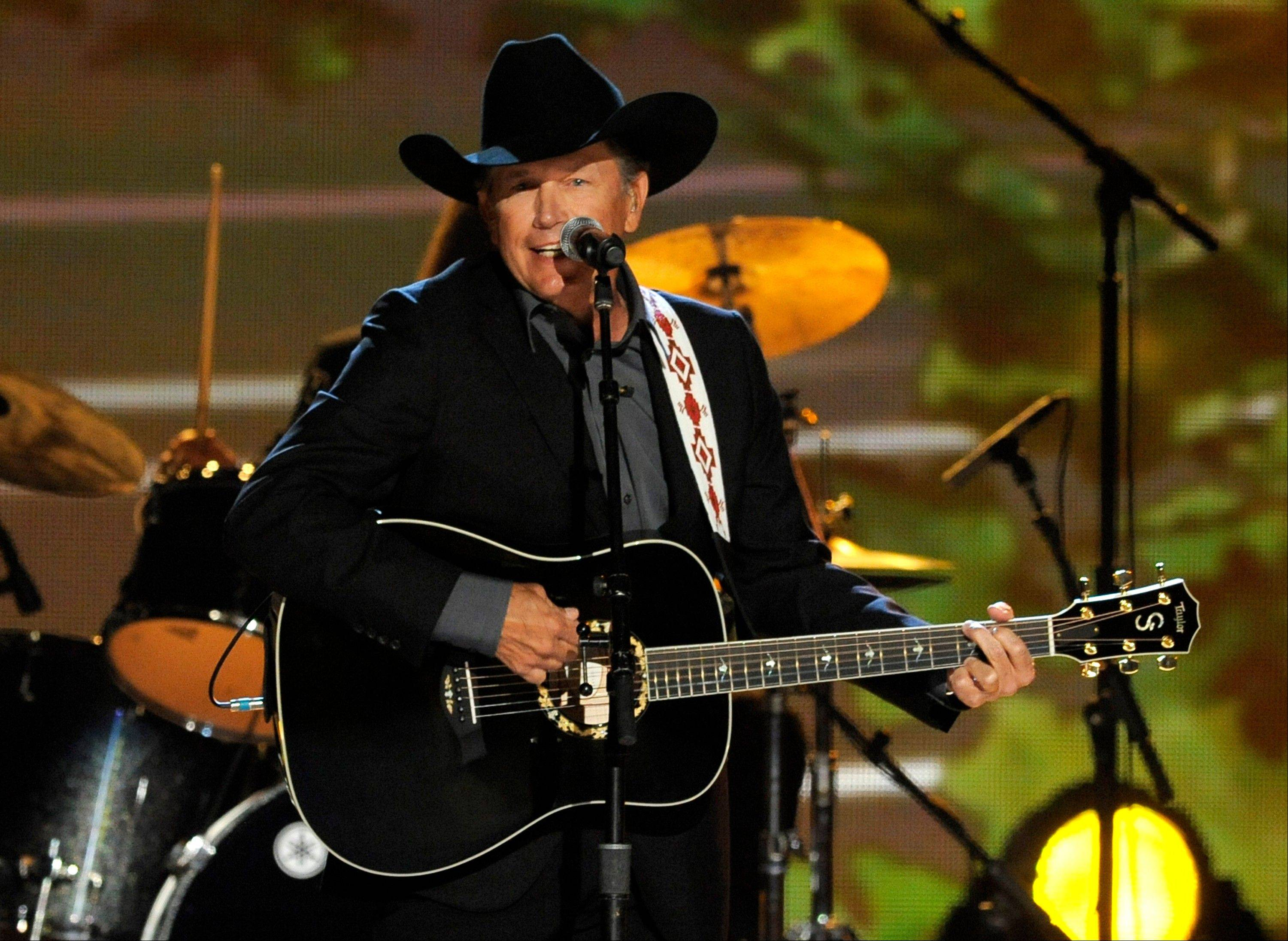 George Strait will play Rosemont's Allstate Arena in March.