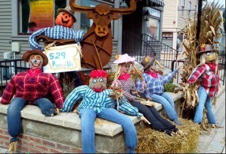 Don't forget to vote for your favorite scarecrows by Oct. 31.
