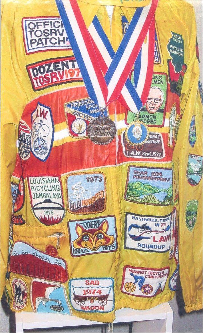 Phyllis Harmon's jacket tells some of the story of her life as of one of the luminaries in American bicycling history.
