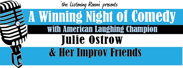 The American Laughing Champion, Julie Ostrow, will perform a winning night of comedy in 'the Listening Room' at the Lakeside Legacy Arts Park. Mark your calendars for October 25th at 7:30pm. To get more information or to purchase tickets, visit www.lakesidelegacy.org or call 815-455-8000.