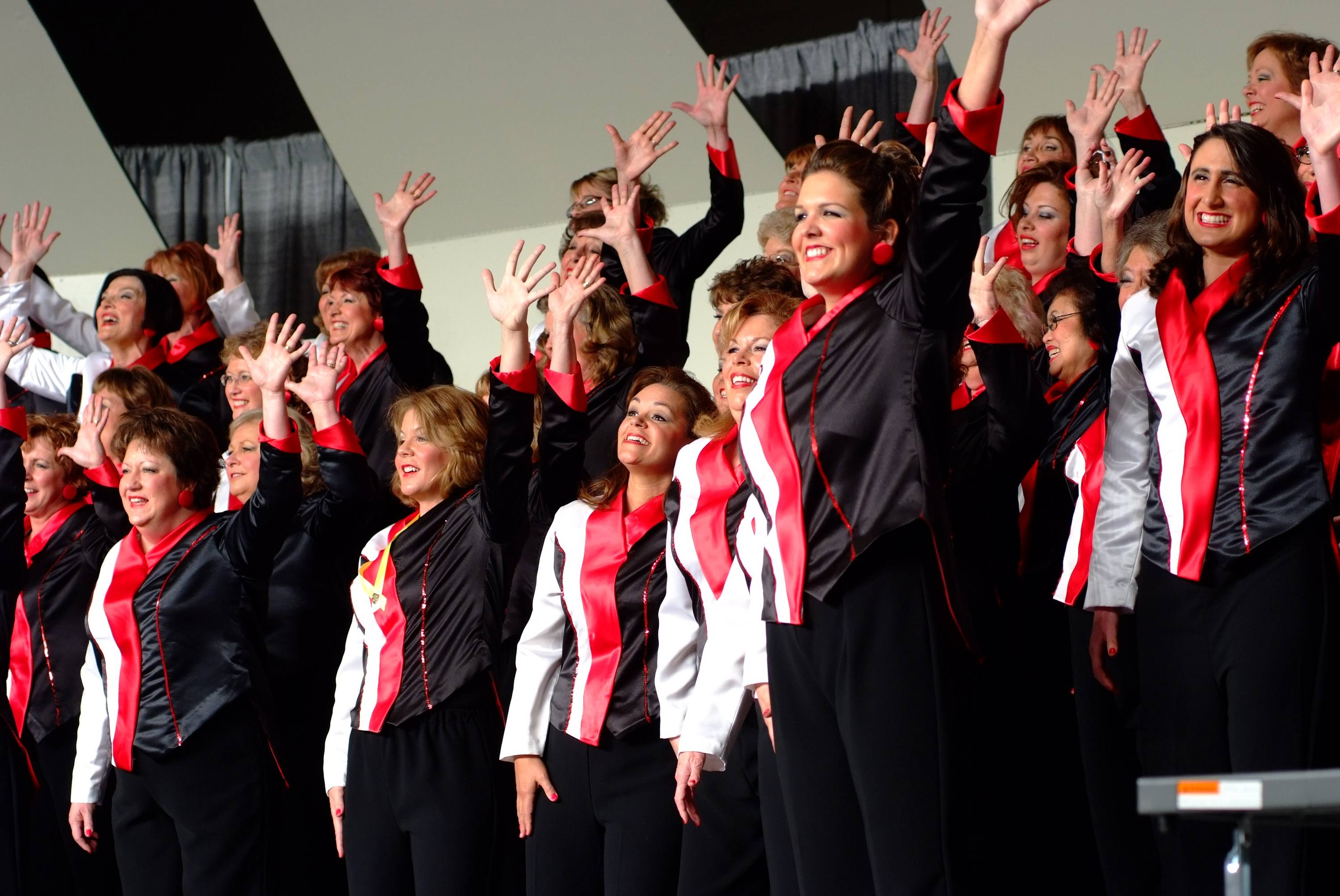 The Choral-Aires Chorus is headed to Hawaii to represent the region in the Sweet Adelines International competition.