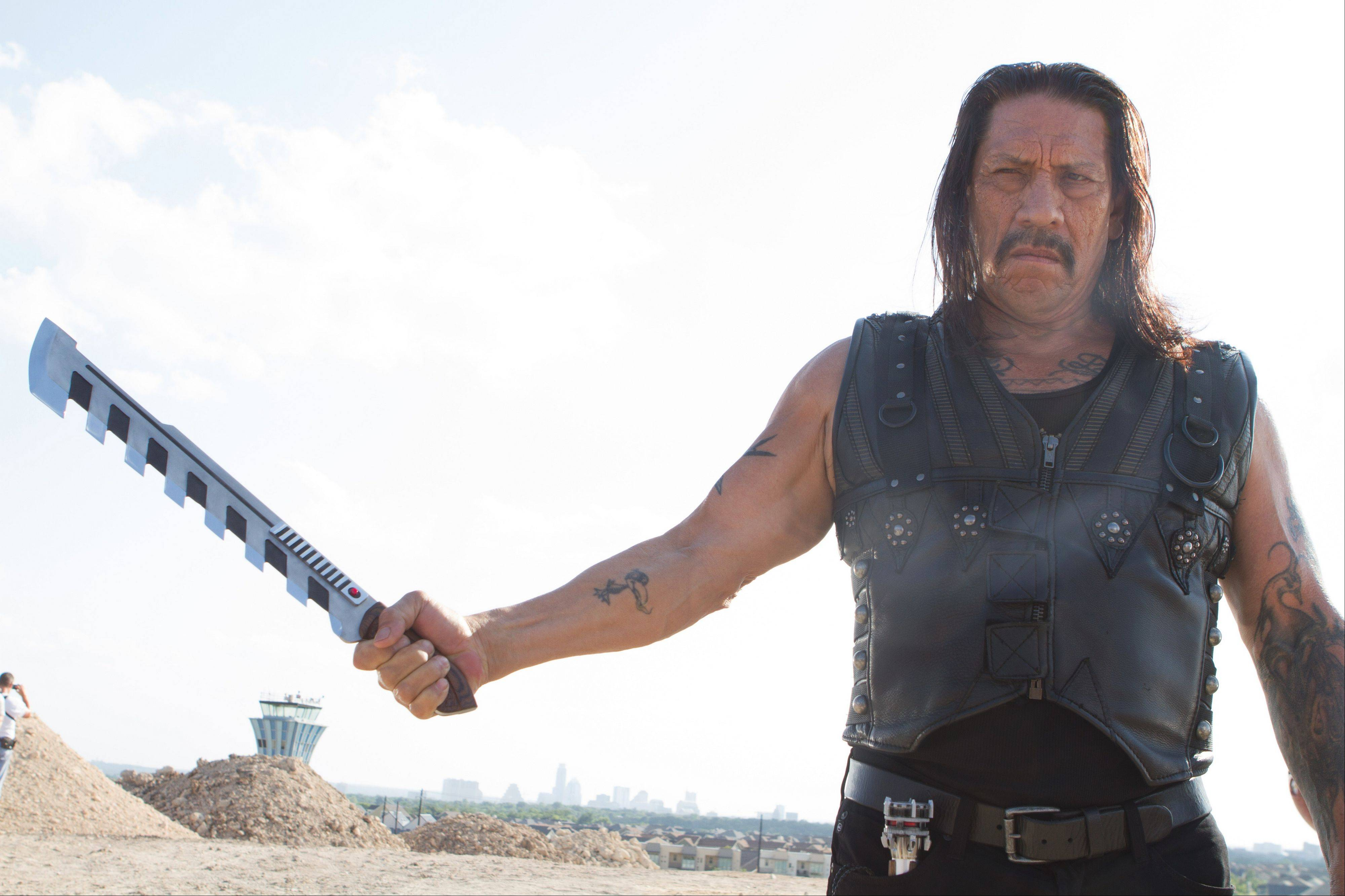 "Danny Trejo stars as the title character in Robert Rodriguez's tired action comedy sequel ""Machete Kills."""