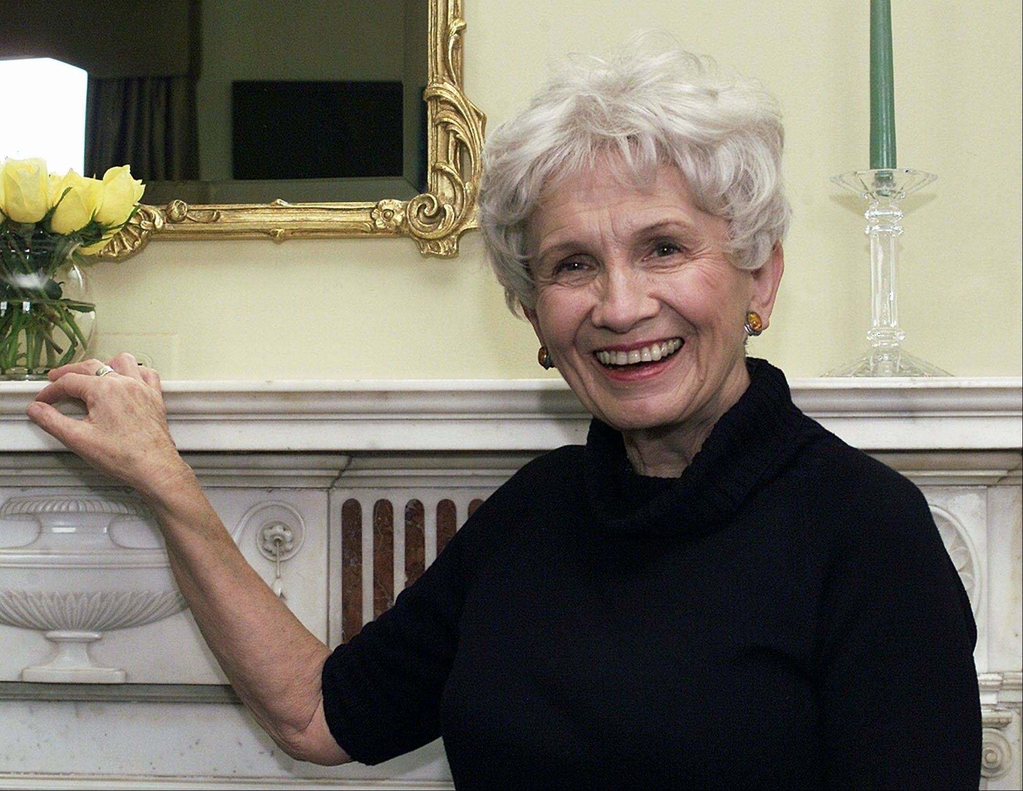 Short story master Alice Munro, who captured everyday lives and epiphanies in rural Canada with elegant and precise prose, won the Nobel Prize in literature on Thursday.