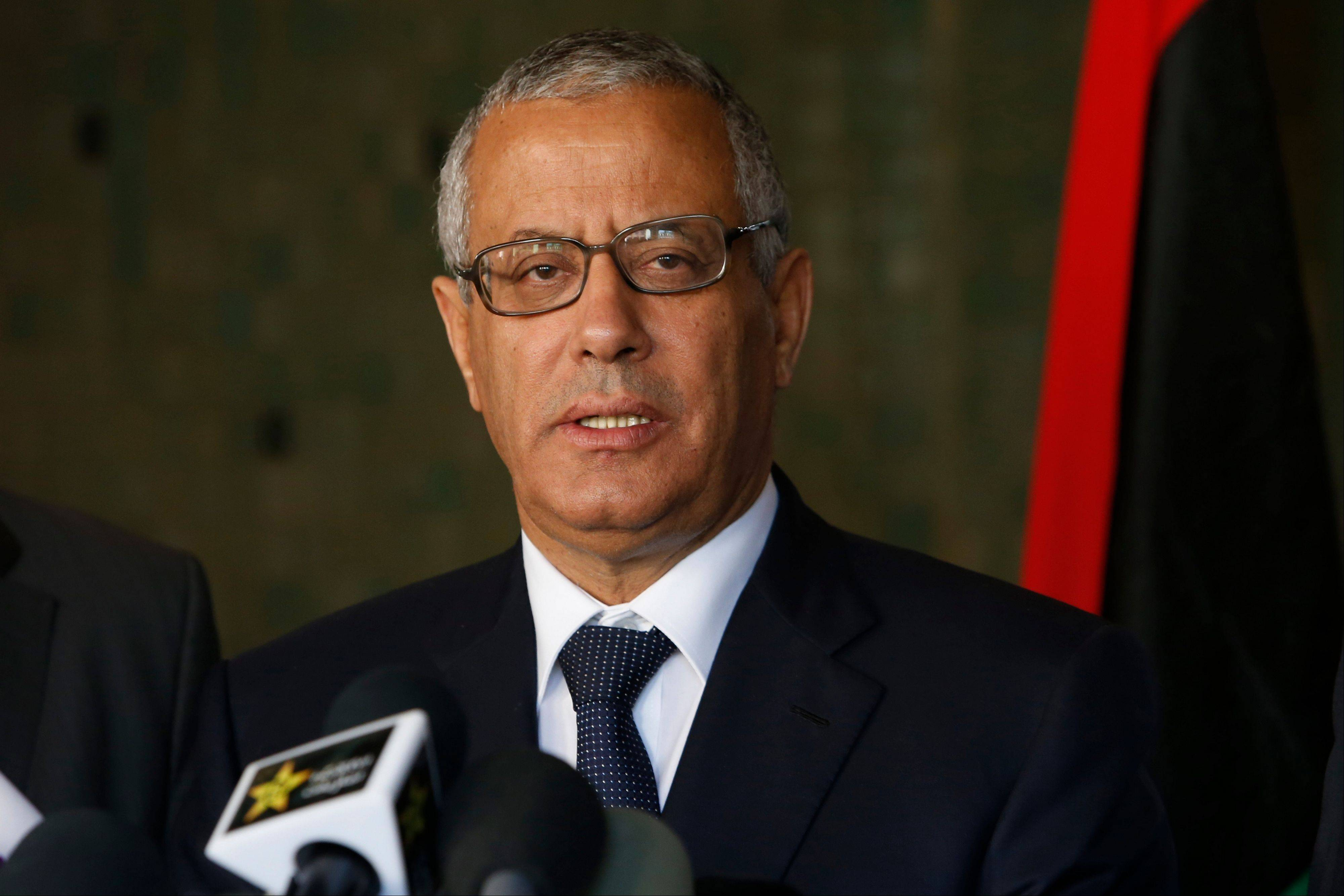 Libyan's Prime Minister Ali Zidan was snatched by gunmen before dawn Thursday from a Tripoli hotel where he resides, the government said. The abduction appeared to be in retaliation for the U.S. special forces' raid over the weekend that seized a Libyan al-Qaida suspect from the streets of the capital.