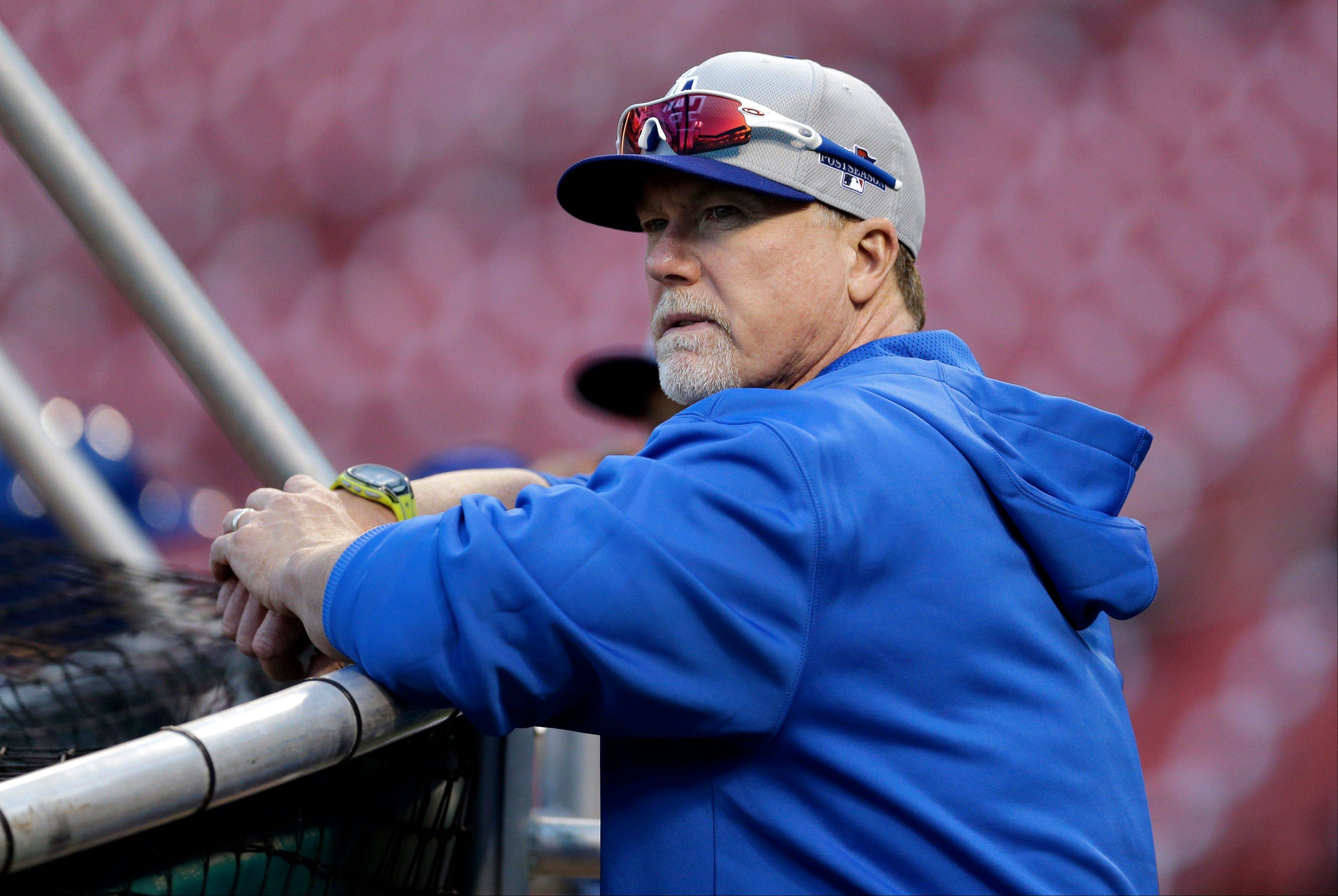 Los Angeles Dodgers batting coach Mark McGwire knows Cardinals hitters well after spending the previous three seasons with them.