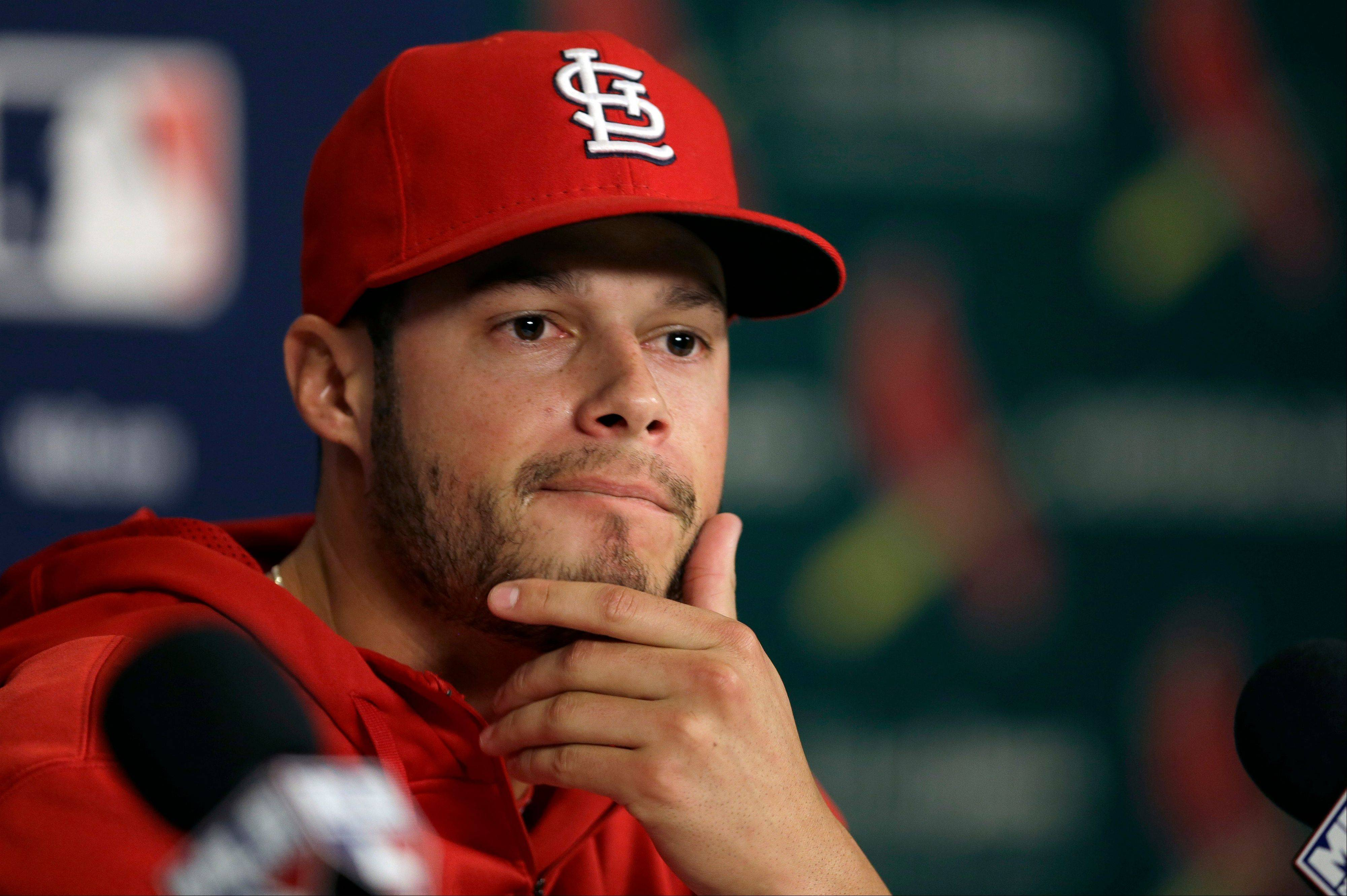 Cardinals pitcher Joe Kelly will take the mound for St. Louis on Friday.