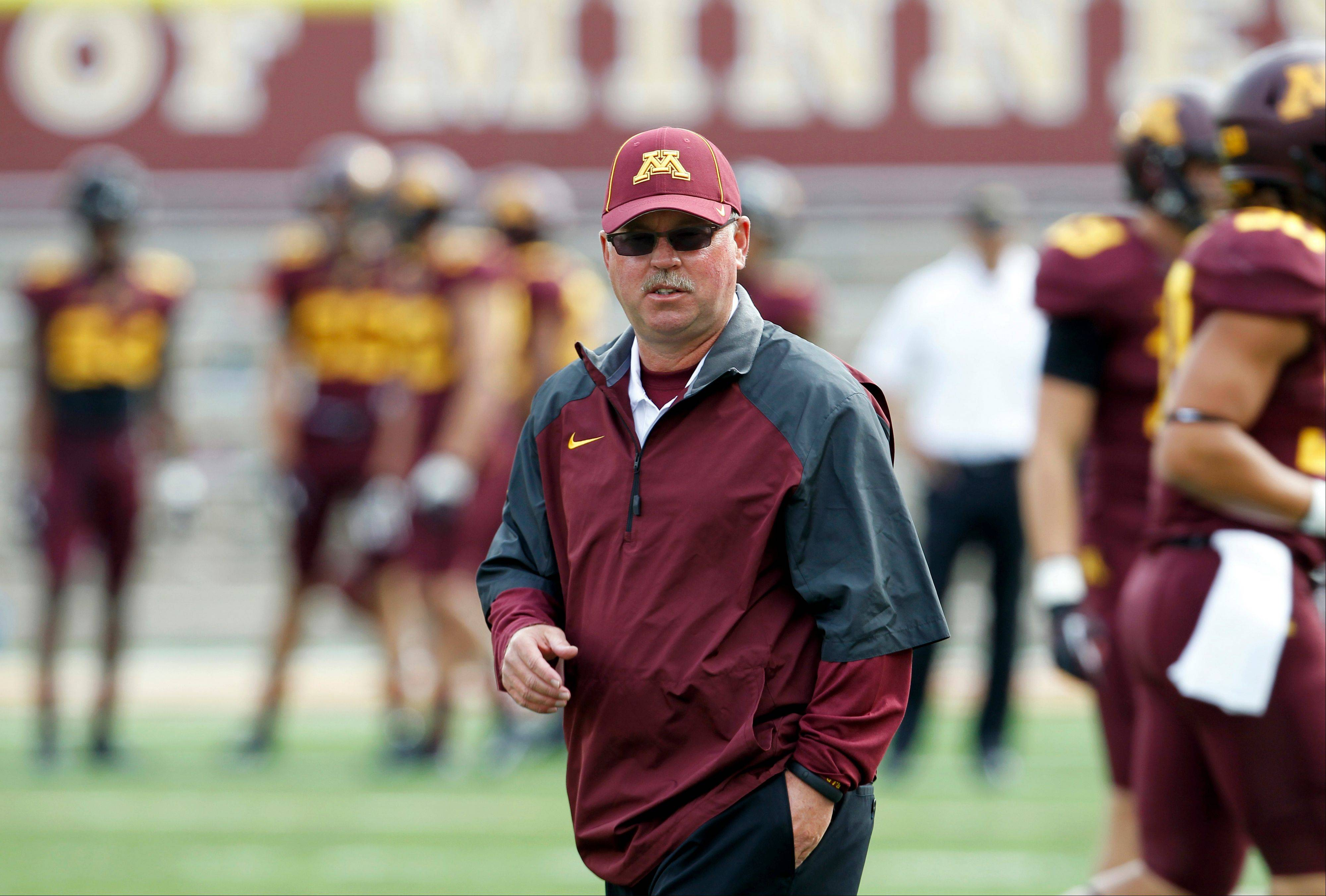 Minnesota head coach Jerry Kill has had five seizures on game days.
