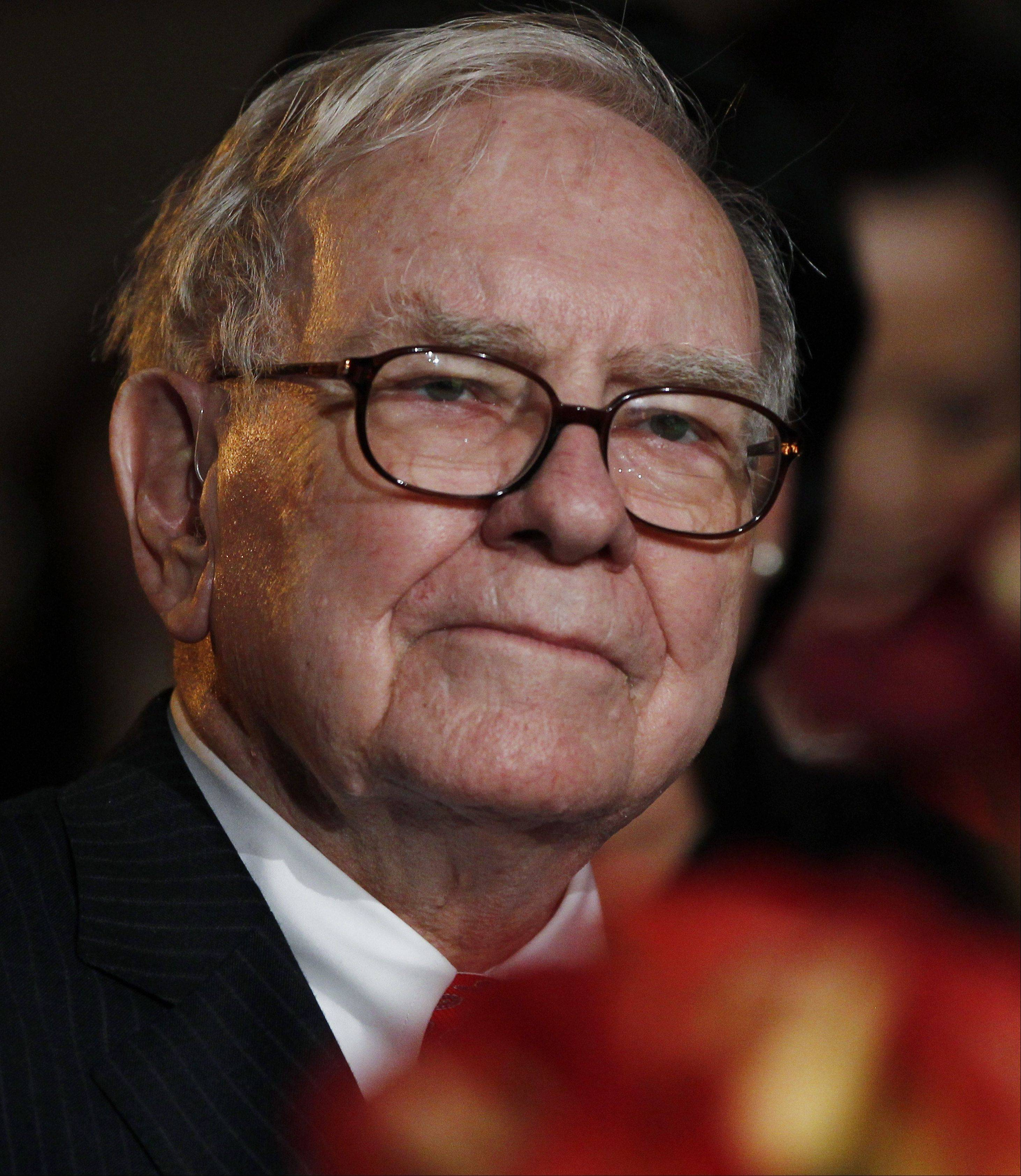 Warren Buffett, CEO, Berkshire Hathaway, parent of BH Media Group