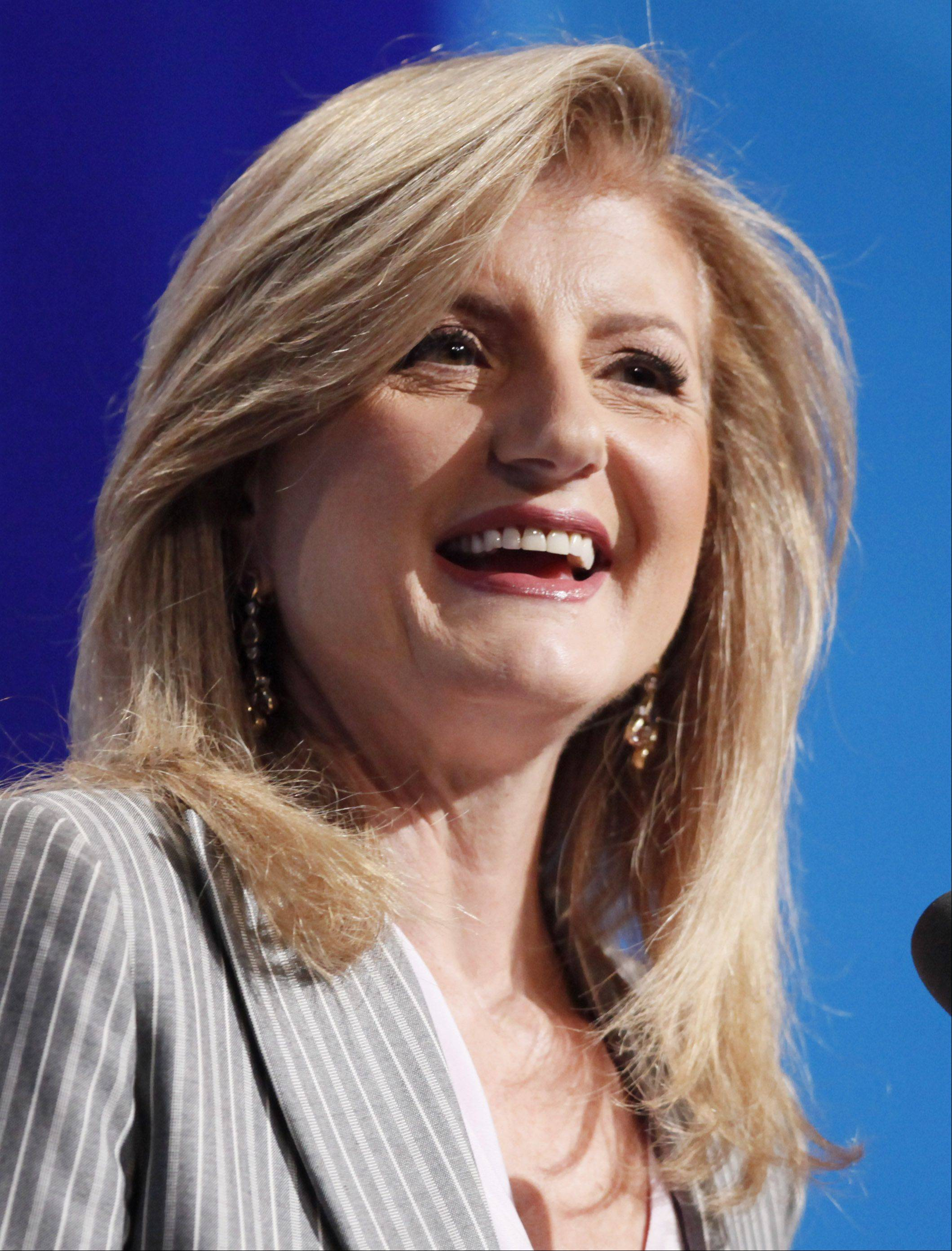 Arianna Huffington, Chair, president and editor-in-chief of the Huffington Post Media Group