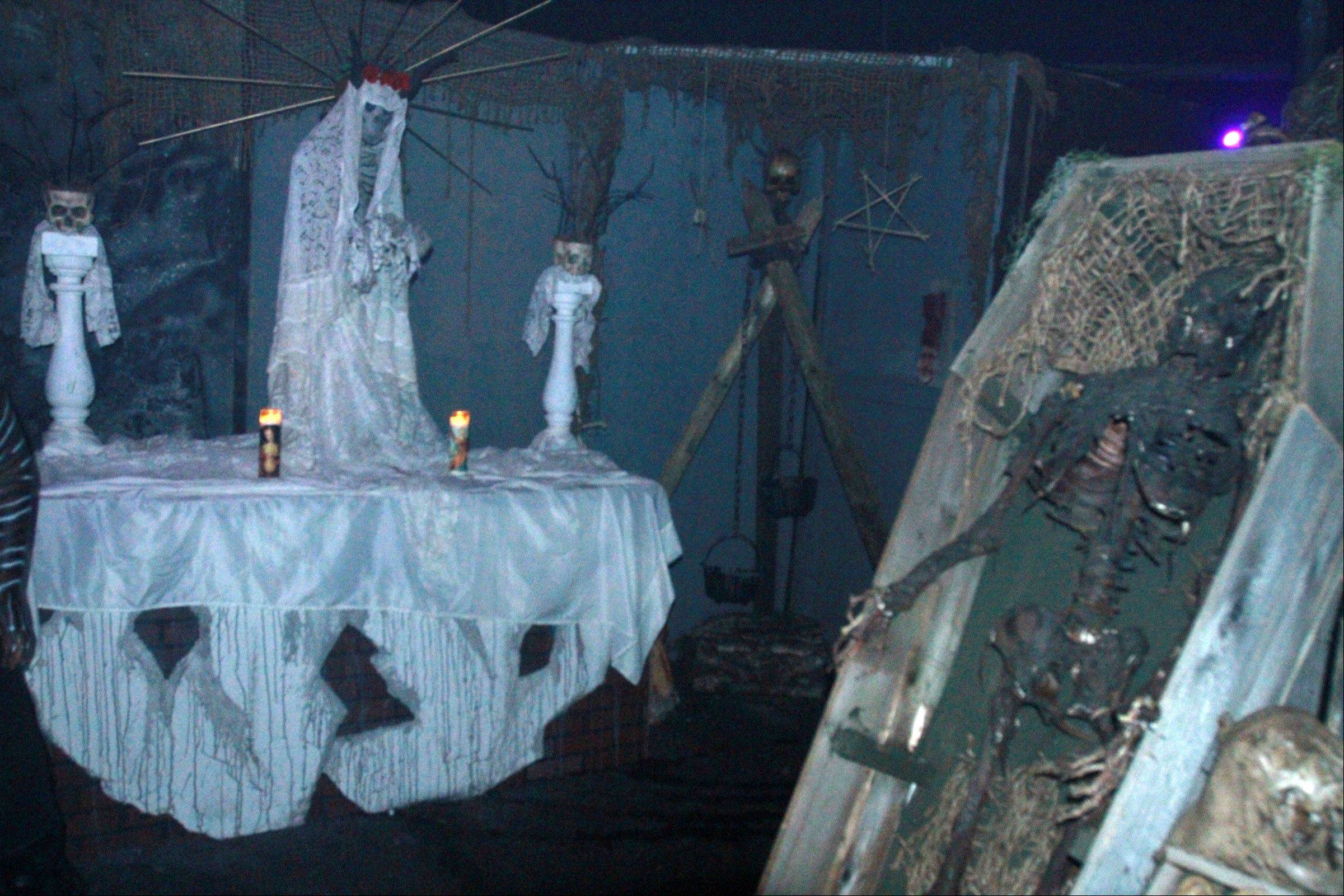 The suburbs' newest haunted attraction is CarnEvil at the Sears Centre in Hoffman Estates.