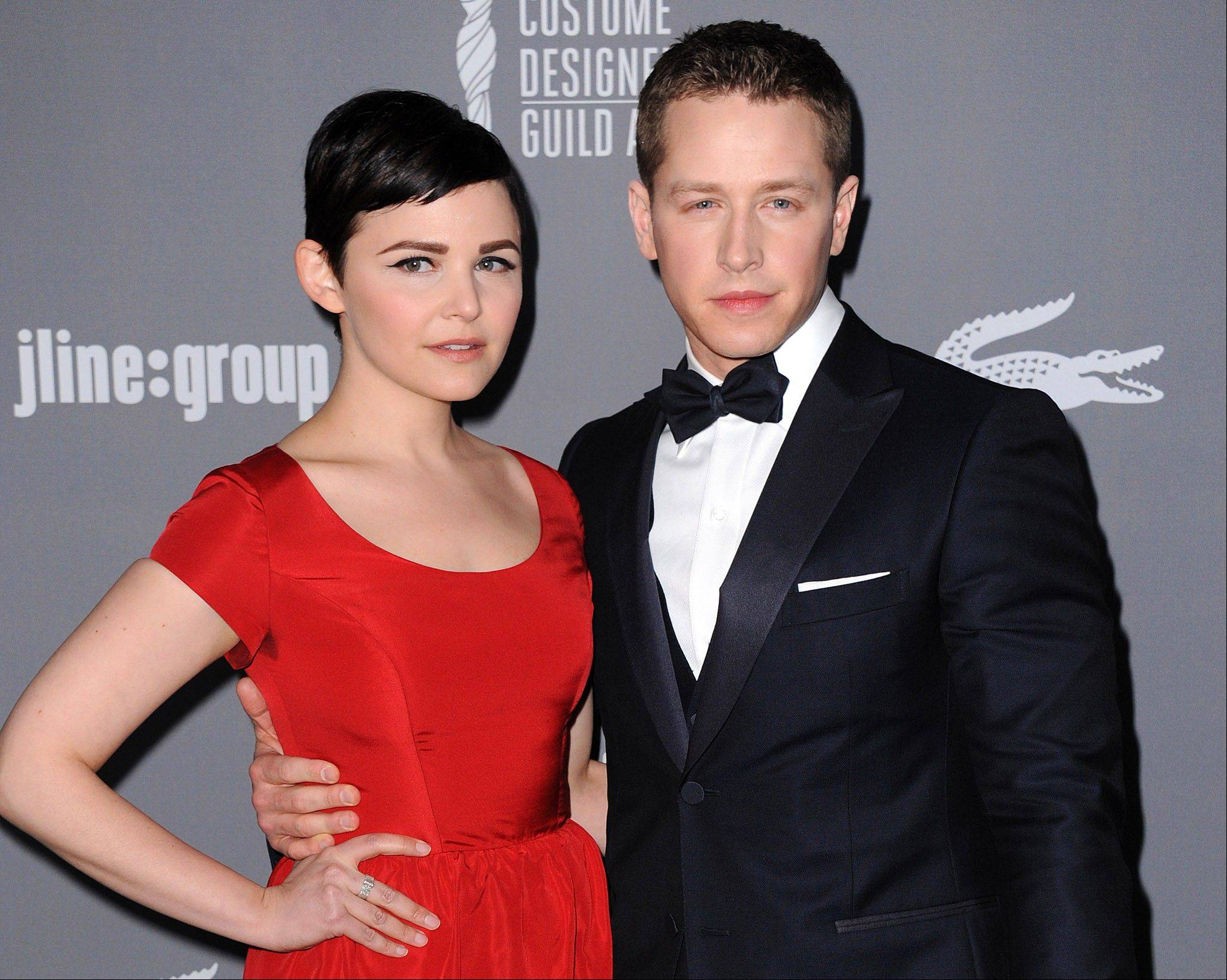 "Ginnifer Goodwin and Josh Dallas, who play Snow White and Prince Charming on ABC's ""Once Upon a Time,"" have announced their engagement."