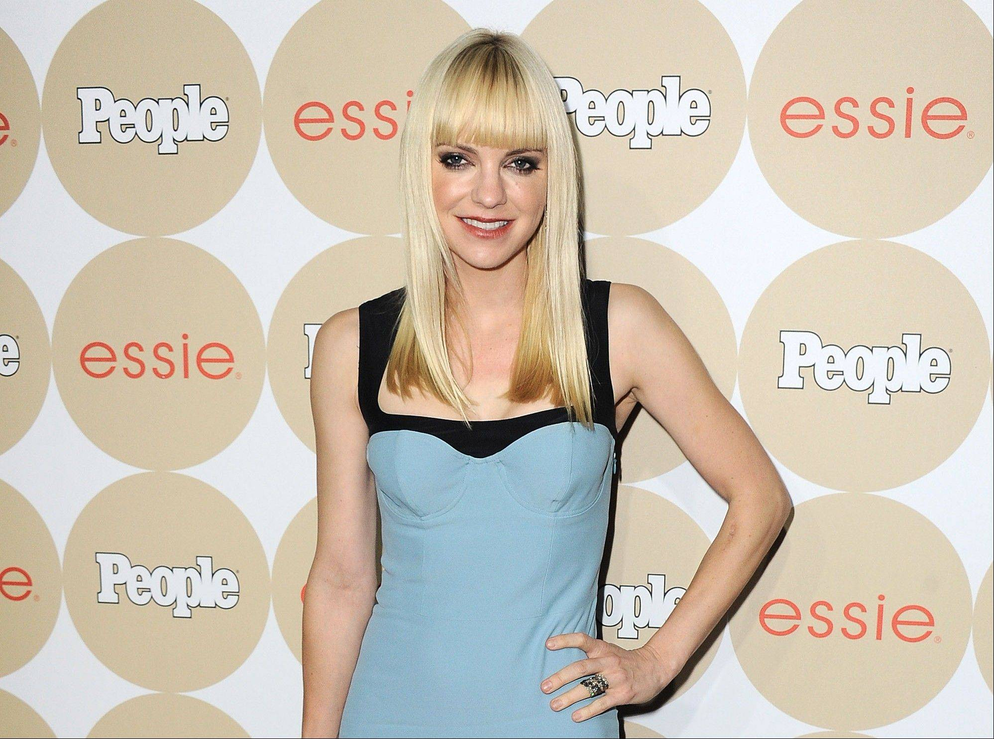 "Anna Faris arrives at the People's Ones To Watch event in Los Angeles. Faris plays a mom on her new CBS series ""Mom"" alongside Allison Janney. Though it's a comedy, Faris says it tackles more serious issues than she'd anticipated."