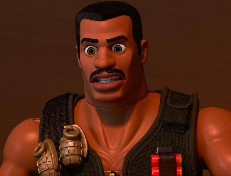 "New character Combat Carl (Carl Weathers) joins Buzz, Woody and the gang in ""Toy Story OF TERROR!"" The new half-hour special airs at 7 p.m. Wednesday on ABC."