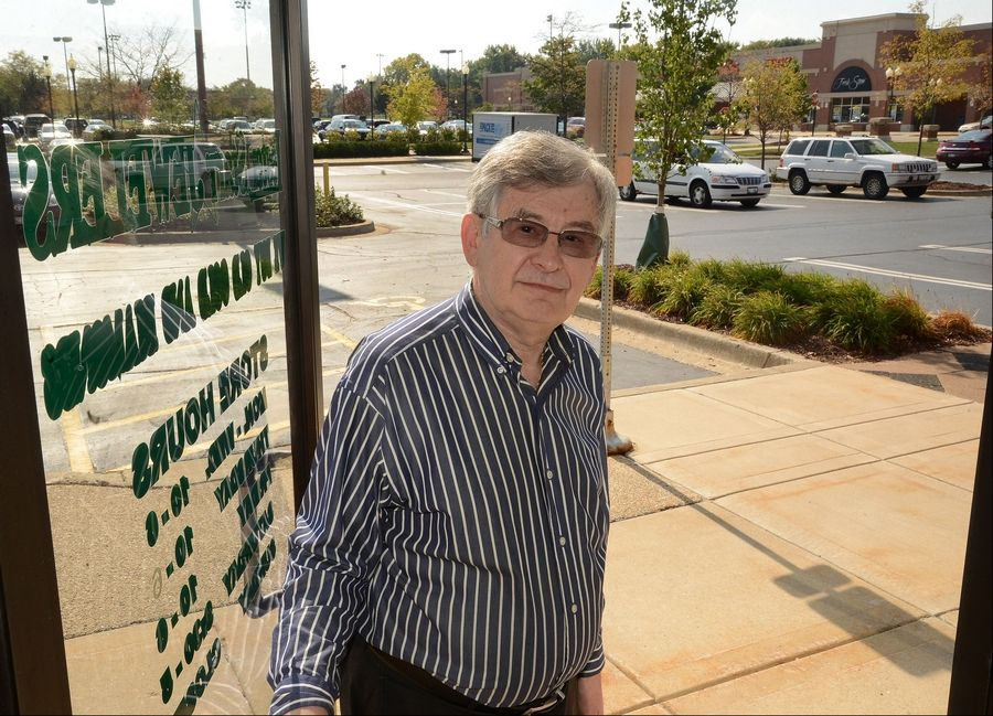 Store owner Lester Starr, of Lester Starr Jewelers, which lies across from the Dominick's in Schaumburg's Town Square.