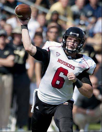 Northern Illinois quarterback Jordan Lynch ranks 13th in the nation in total offense, averaging 329.2 yards per game.