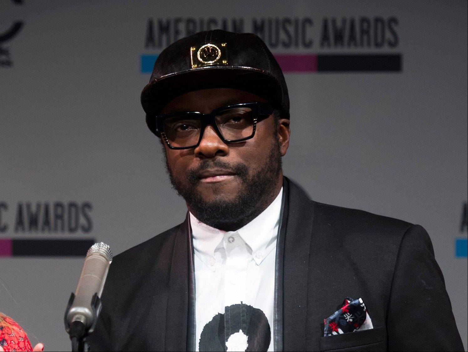 Will.i.am is executive producing Britney Spears' eighth album, to be released Dec. 3.