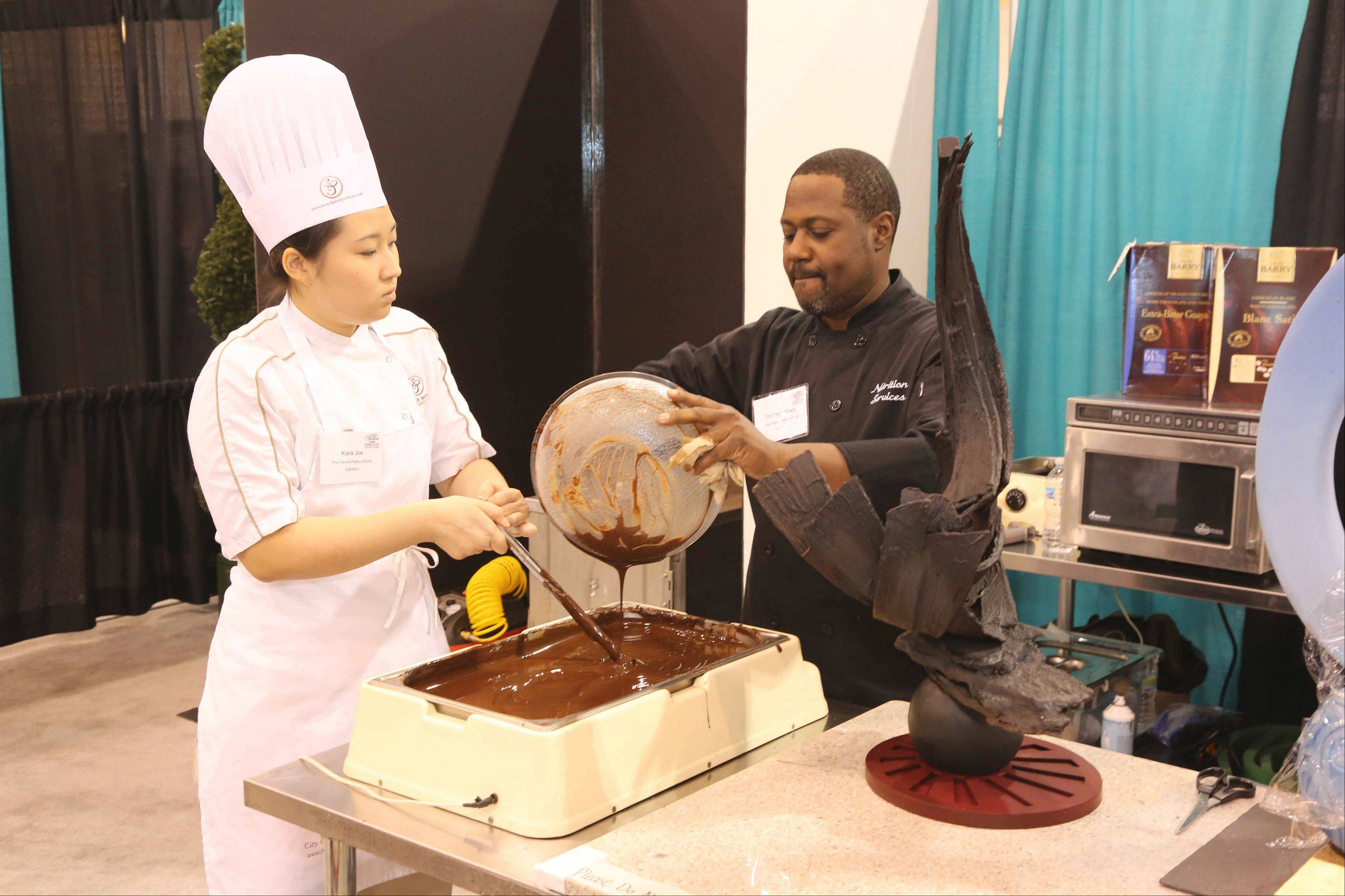 Watch demonstrations and more at the Chicago Fine Chocolate & Dessert Show Oct. 18-20 at Navy Pier.
