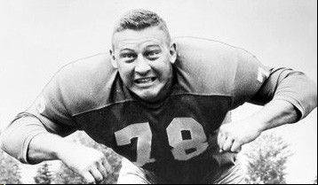 "Detroit Lions end Darris McCord was a member of the Lions' ""Fearsome Foursome"" defensive line in the 1950s and 1960s."