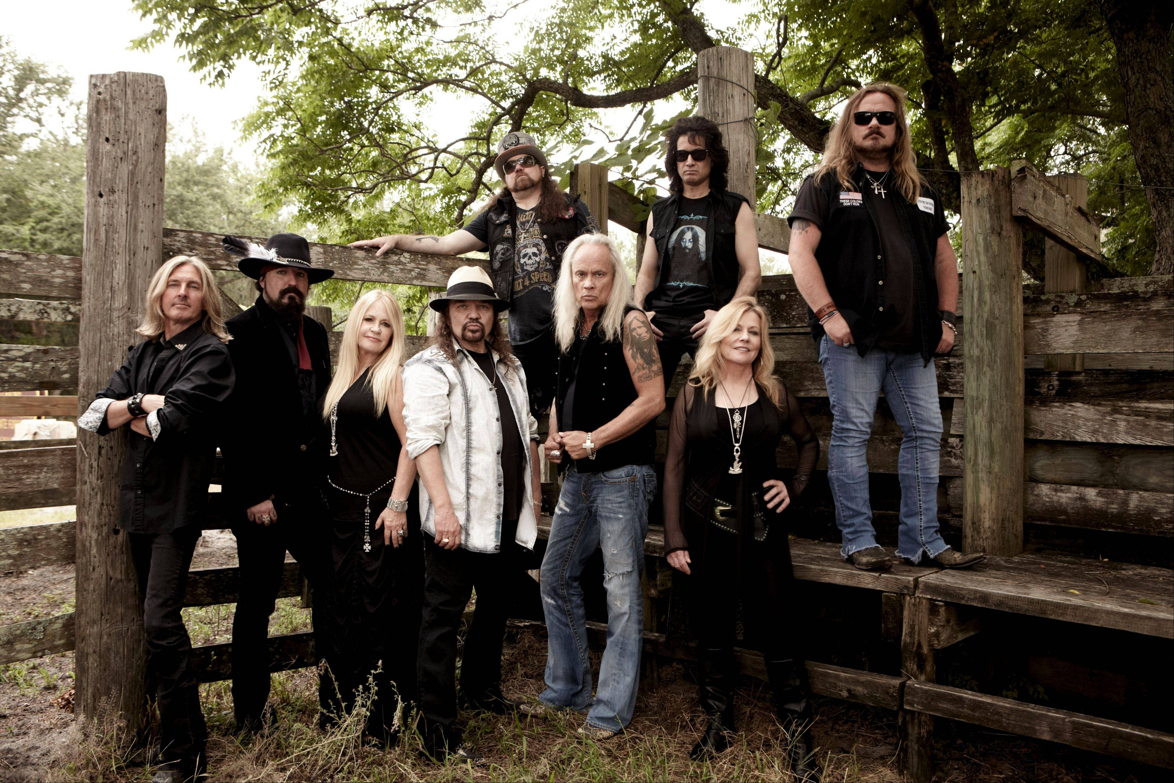 Lynyrd Skynyrd plays on the same bill with John Kay & Steppenwolf at Festival Park next to the Grand Victoria Casino in Elgin on Sunday, Oct. 13.
