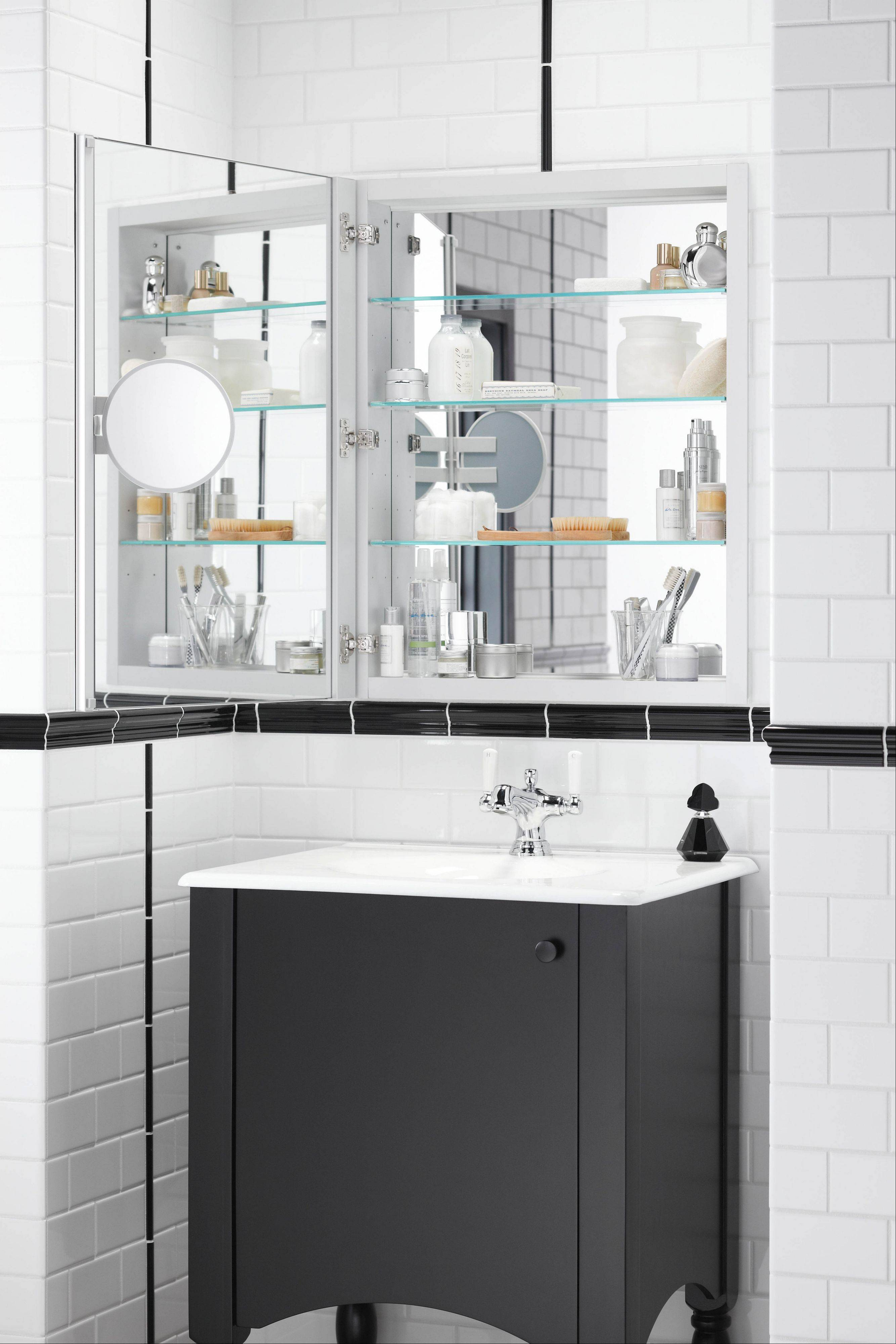 With all the new styles available, take your time in choosing the right medicine cabinet for your bathroom.