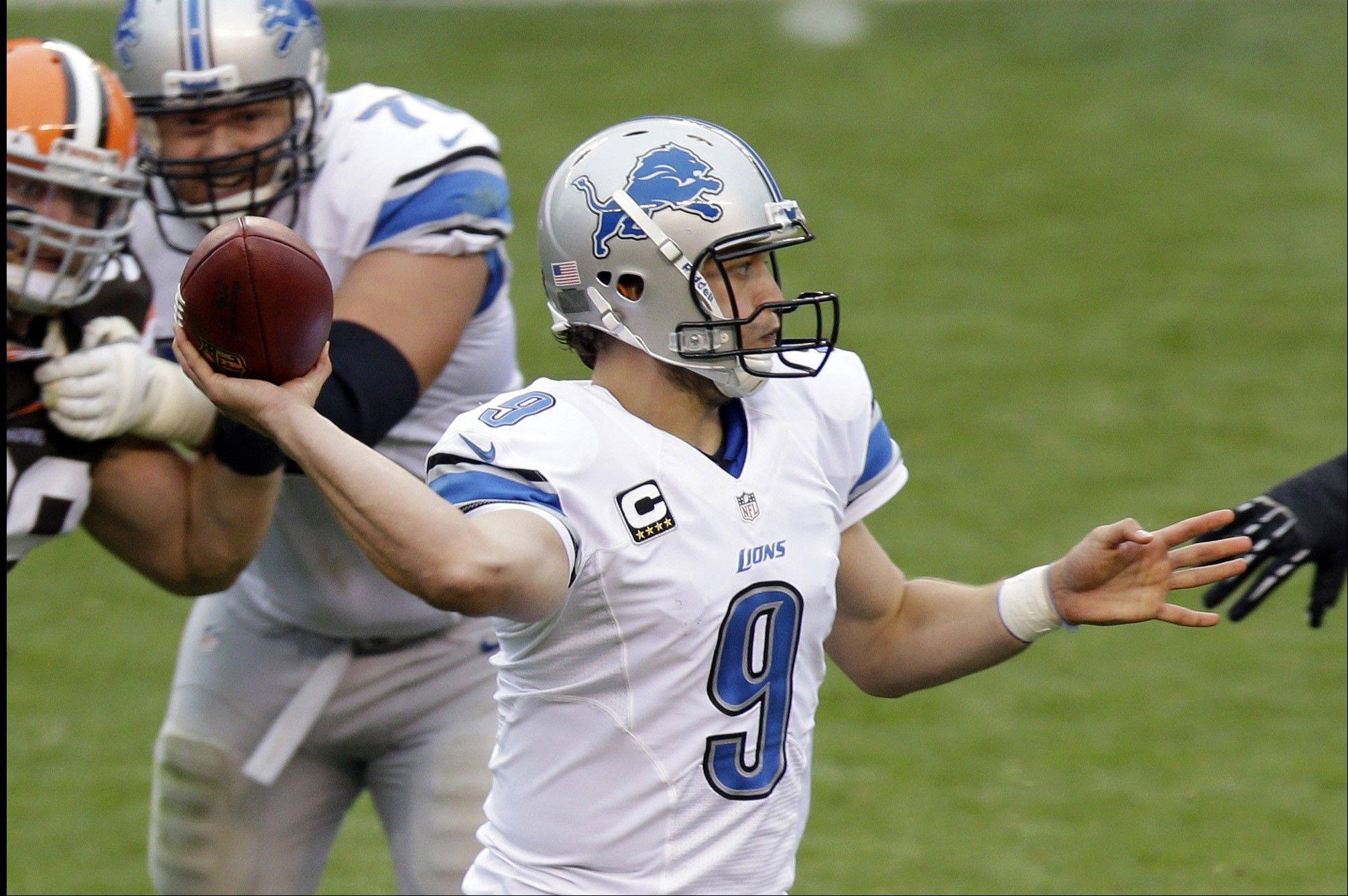 Stafford jump-starts Lions in 31-17 win over Browns