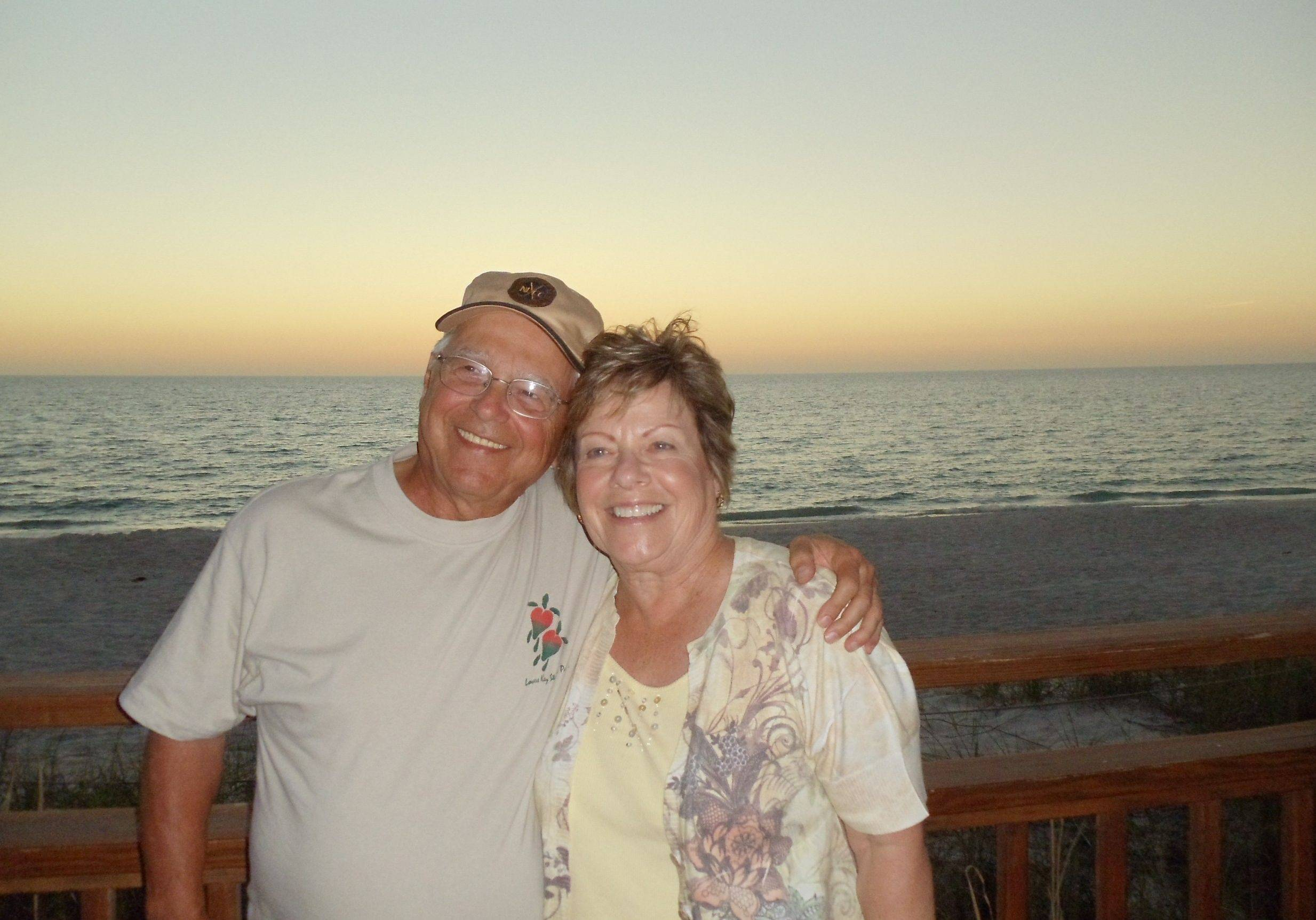 Tom and Mary Porte of Elk Grove Village spend winters in Florida. Recent years have found them in Fort Meyers, though they've also spent time in Naples and Bonita Springs.