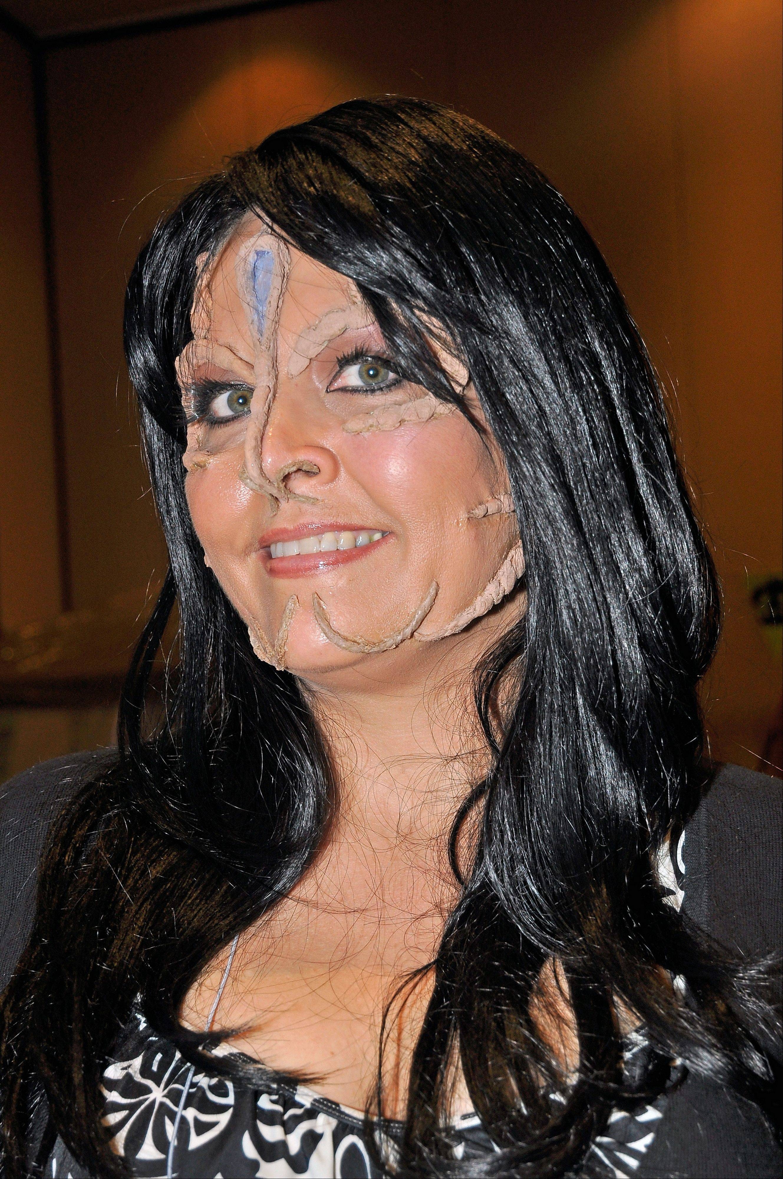 "You have to be a ""Star Trek"" fan to understand this Mensa member is costumed as ""Kim Cardassian,"" the extraterrestrial version of reality TV's Kim Kardashian."