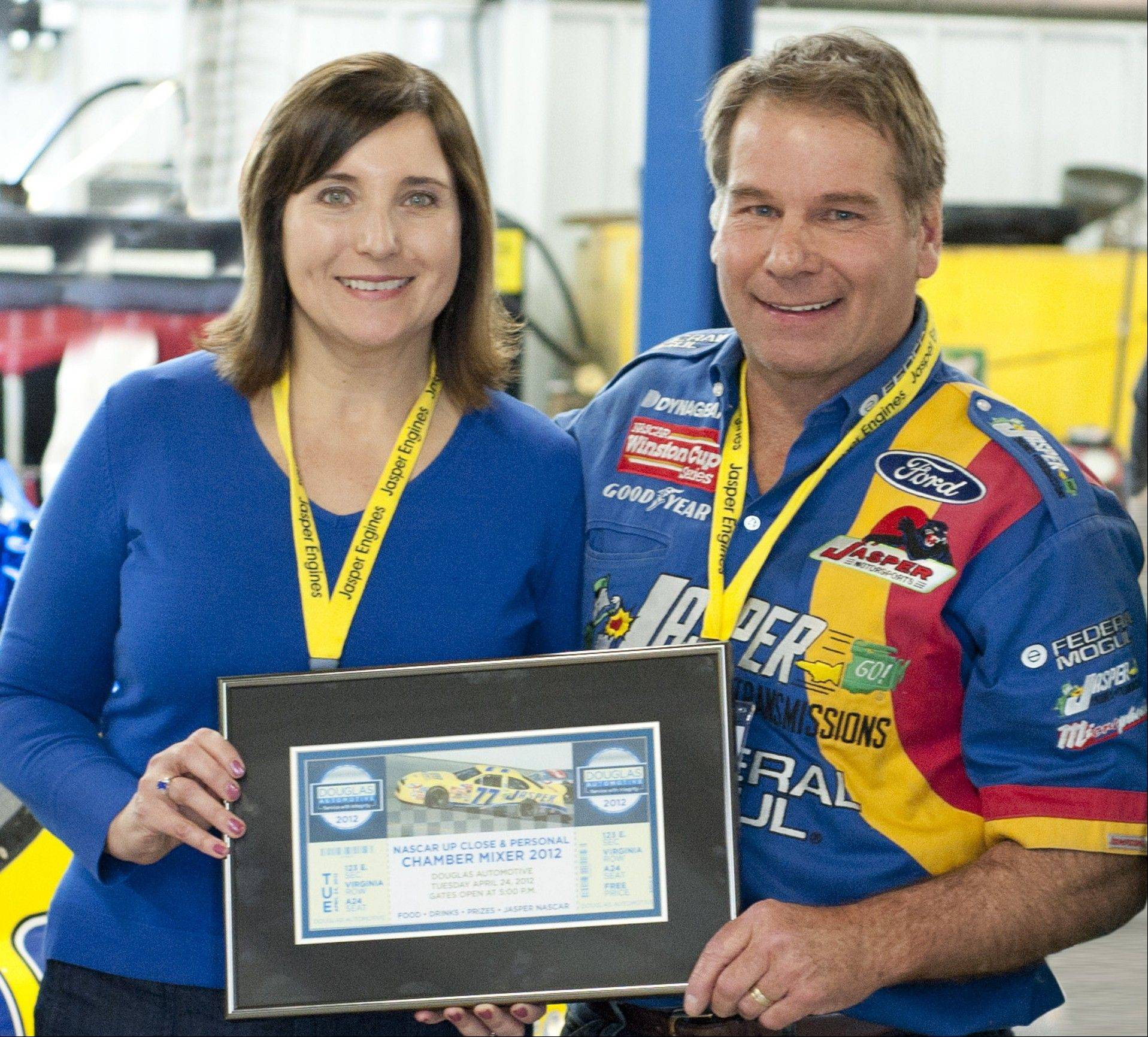 Doug and Janet McAllister, owners of Douglas Automotive, recently expanded their business in Barrington.