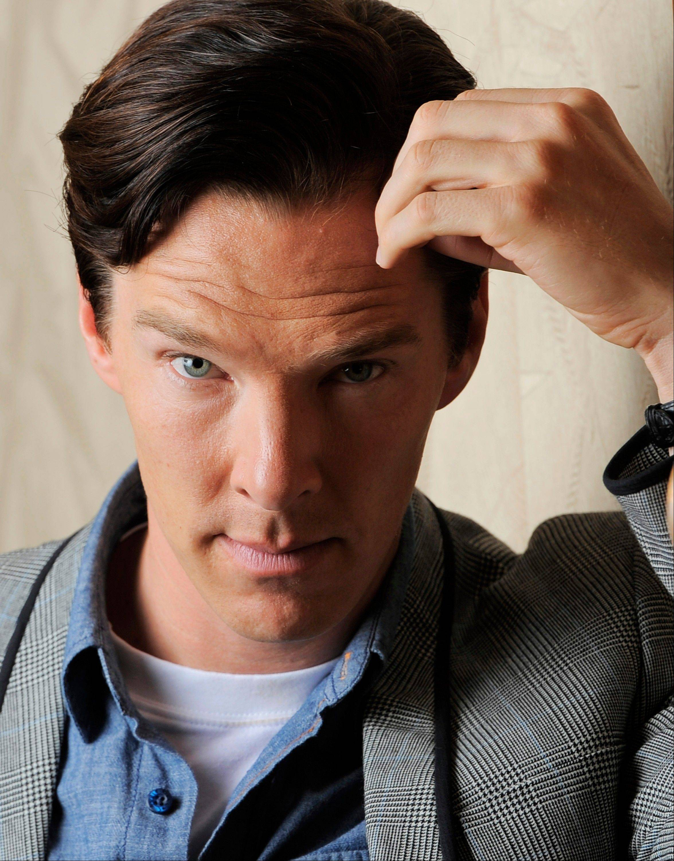 Actor Benedict Cumberbatch stars as WikiLeaks founder Julian Assange in�The Fifth Estate,� in theaters on Oct. 18.