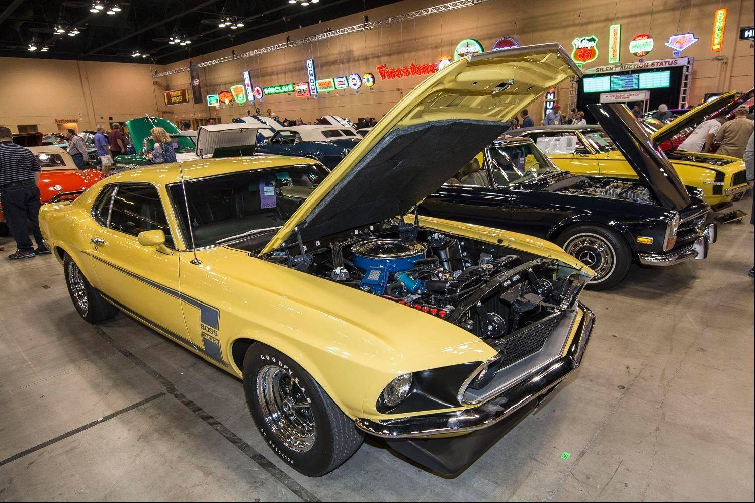 A variety of classics, muscle cars and one-offs rolled across the auction block over the weekend.