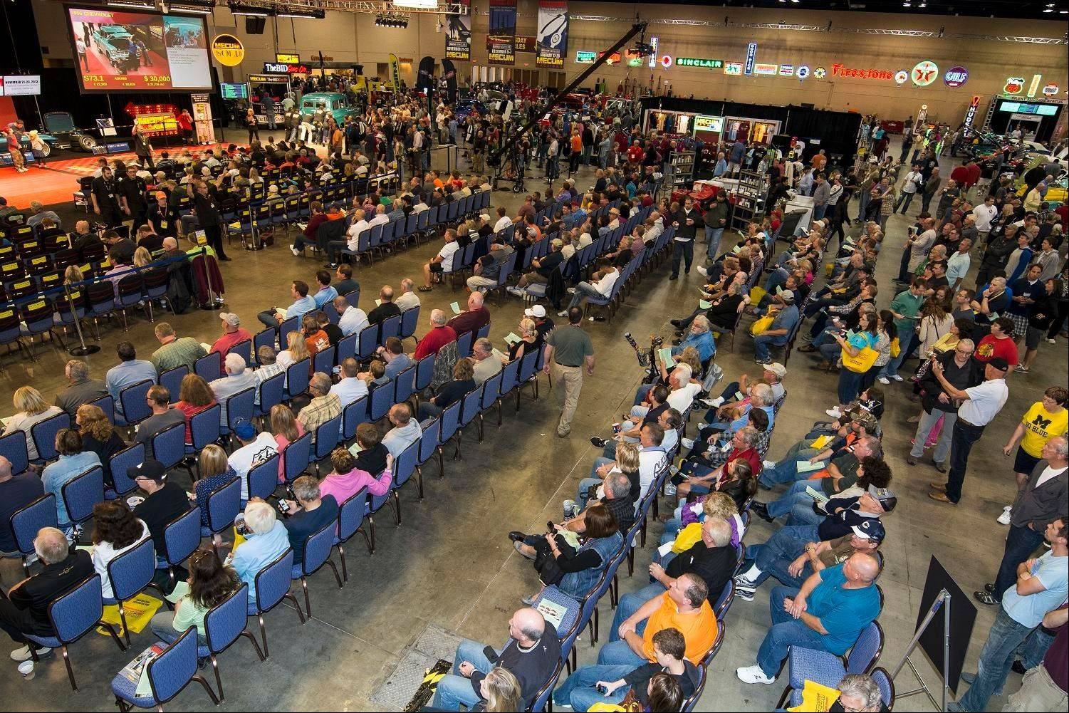 The auction began Thursday and wrapped up Saturday afternoon.