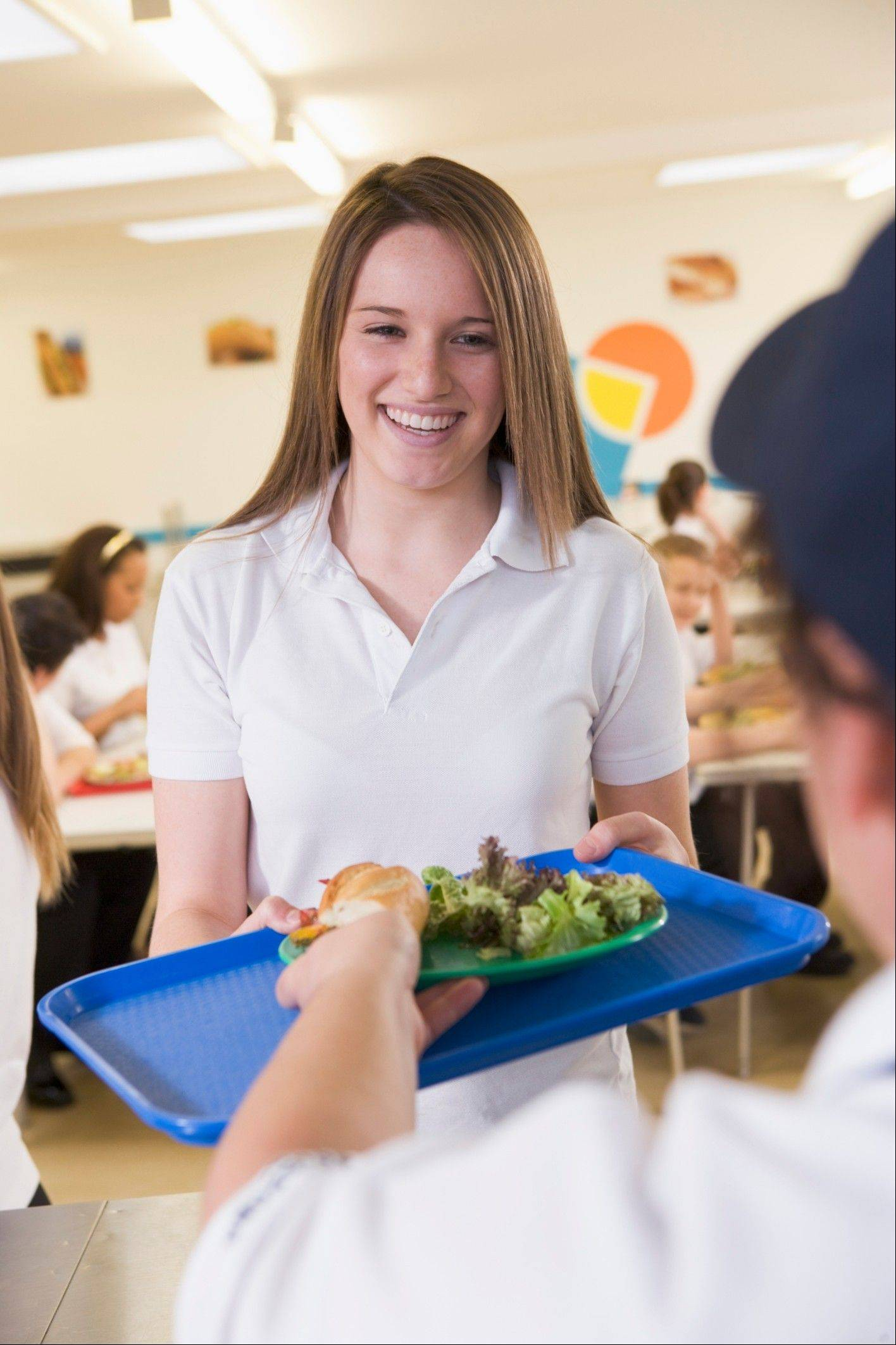 New school lunch offerings will include food lower in sodium and fat.