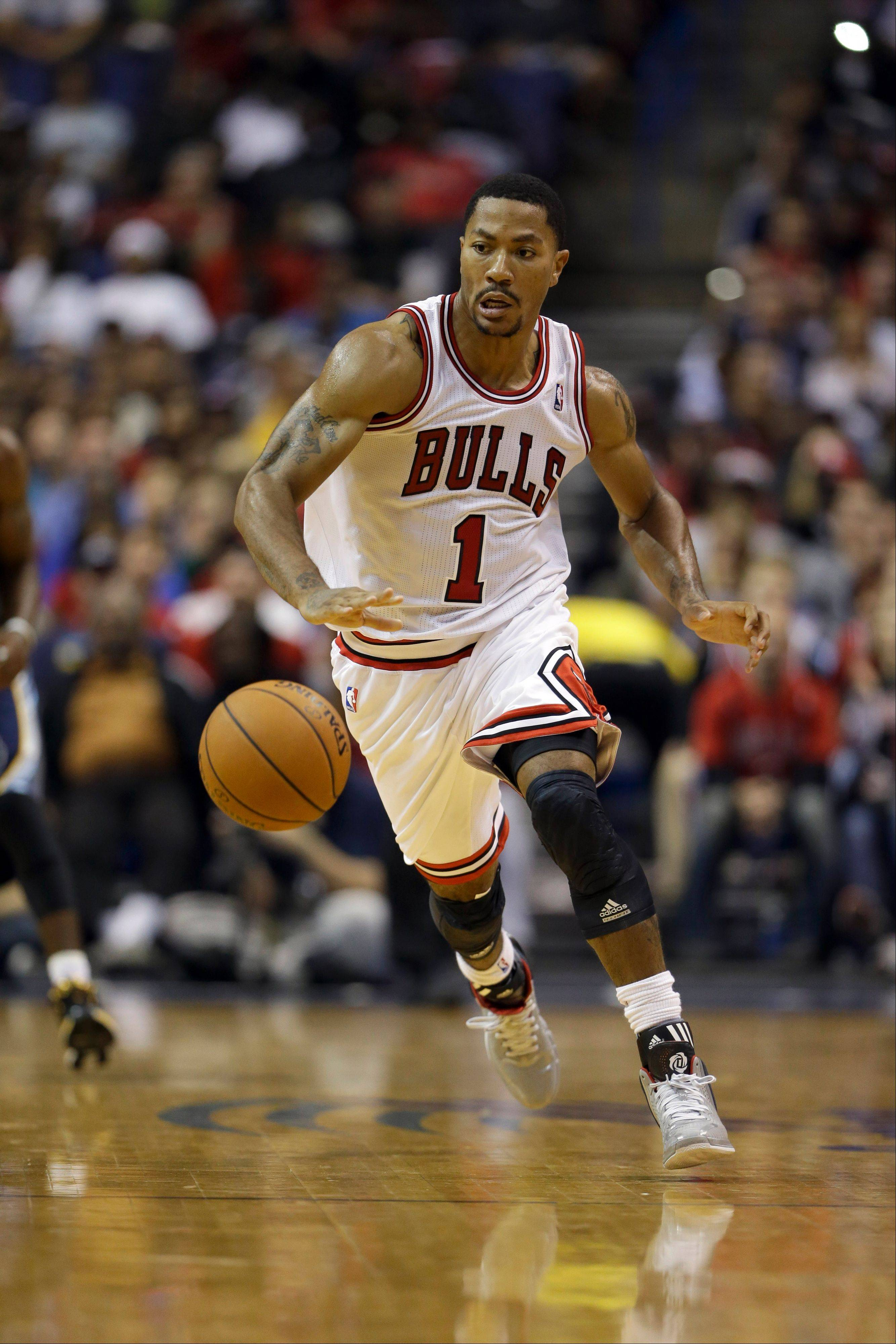 Derrick Rose made it clear Monday at the Berto Center that his left knee is feeling just fine.