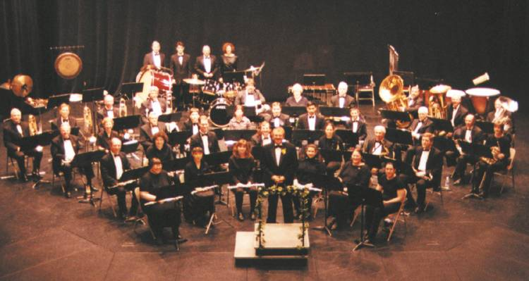 The Community Concert Band Presents: Tchaikovsky on October 27 at 3:00pm.