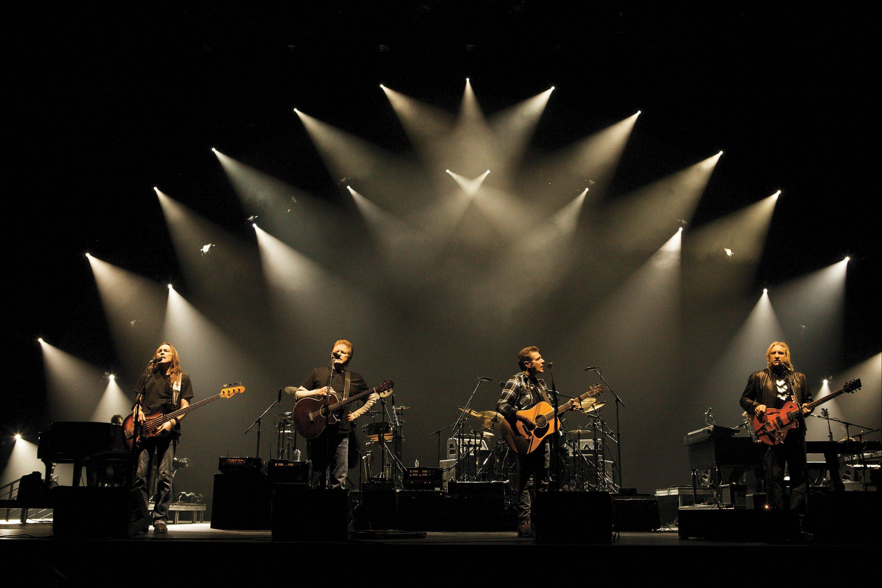 The Eagles perform at the Allstate Arena in Rosemont on Saturday, Oct. 19.