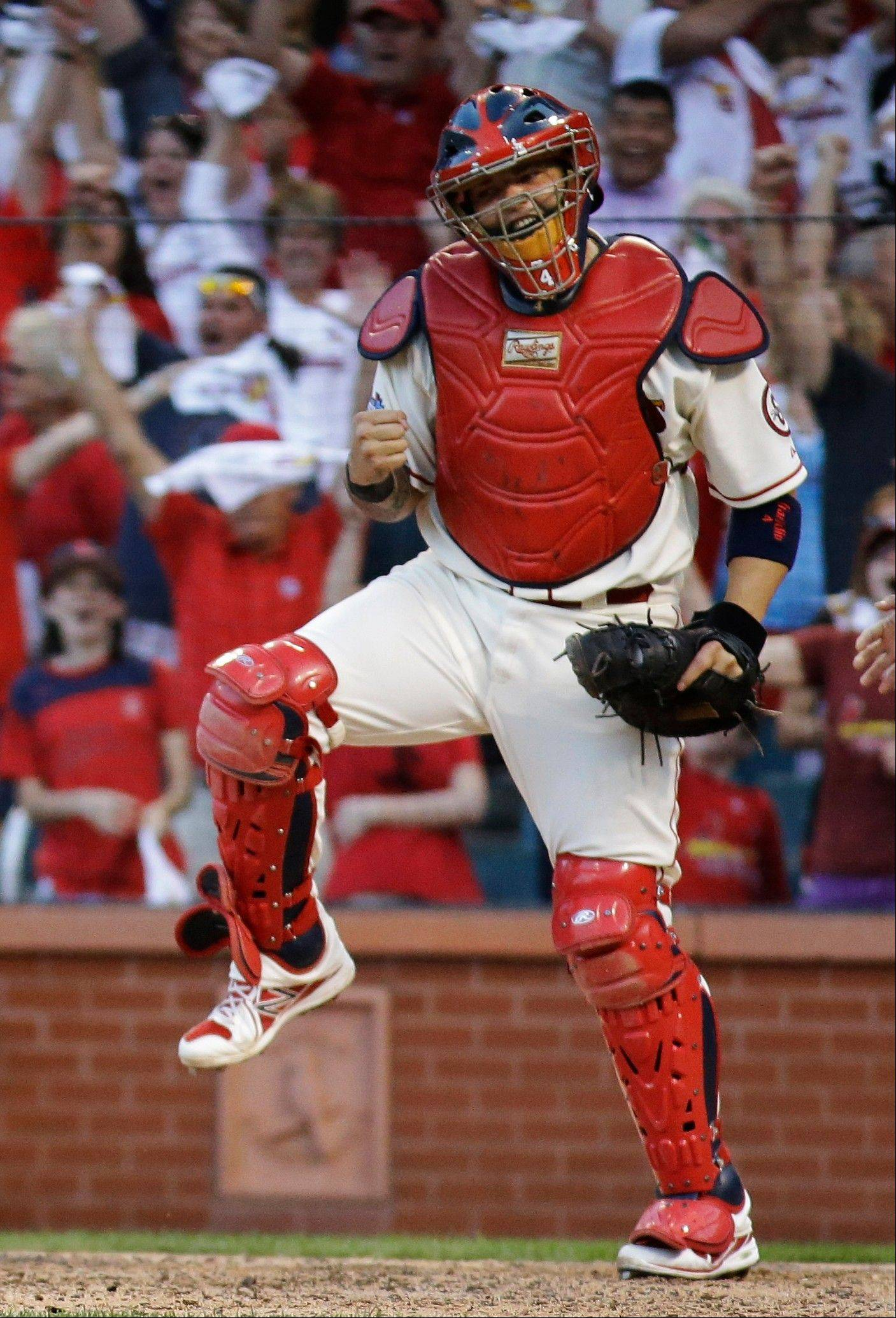 Catcher Yadier Molina is just one of the many reasons why the Cardinals just keep getting the job done year after year.
