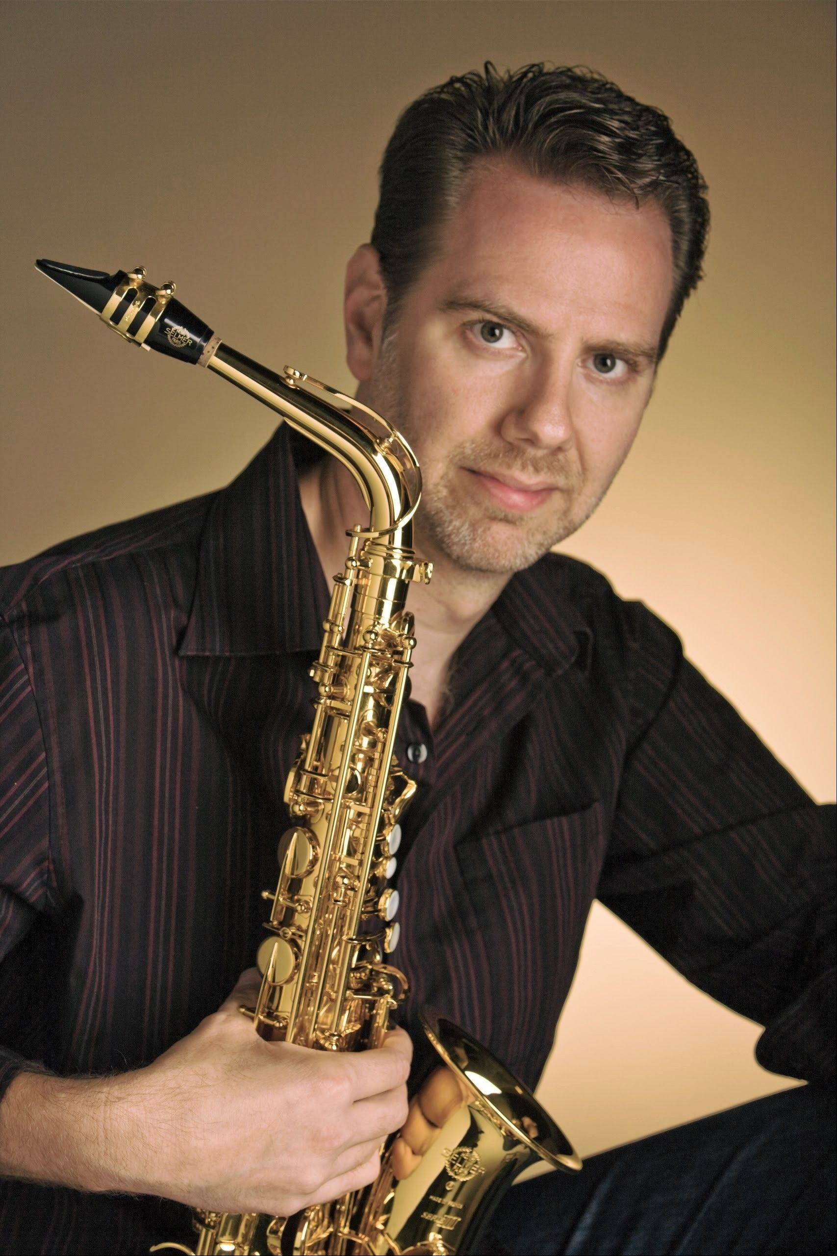 "Timothy McAllister is the guest saxophone soloist with the Elgin Symphony Orchestra for Schaumburg and Elgin concerts of ""Movie Greats by John Williams."""