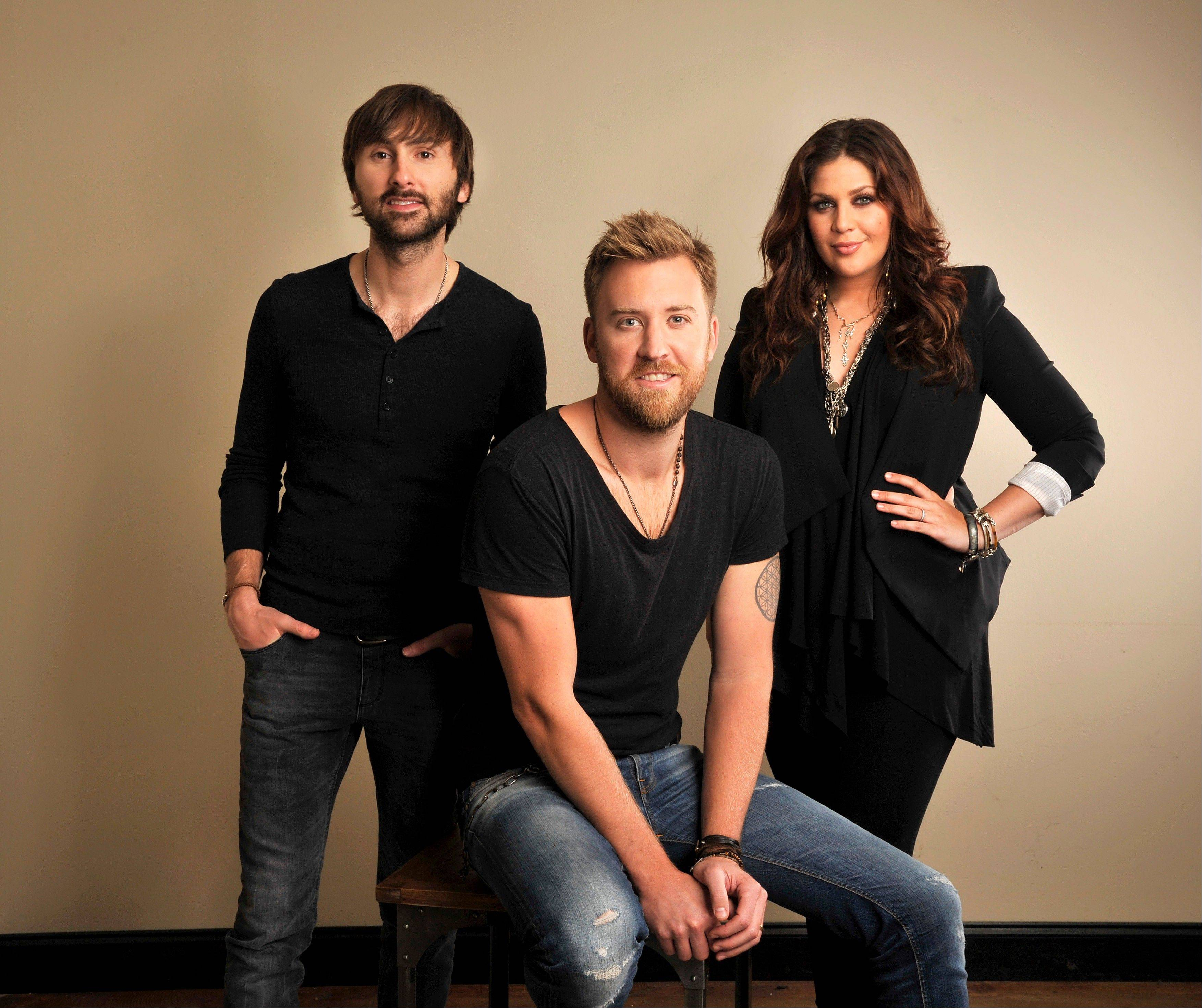 The band Lady Antebellum, featuring Dave Haywood, Charles Kelley and Hillary Scott, has rescheduled its upcoming concert date at the Allstate Arena in Rosemont.