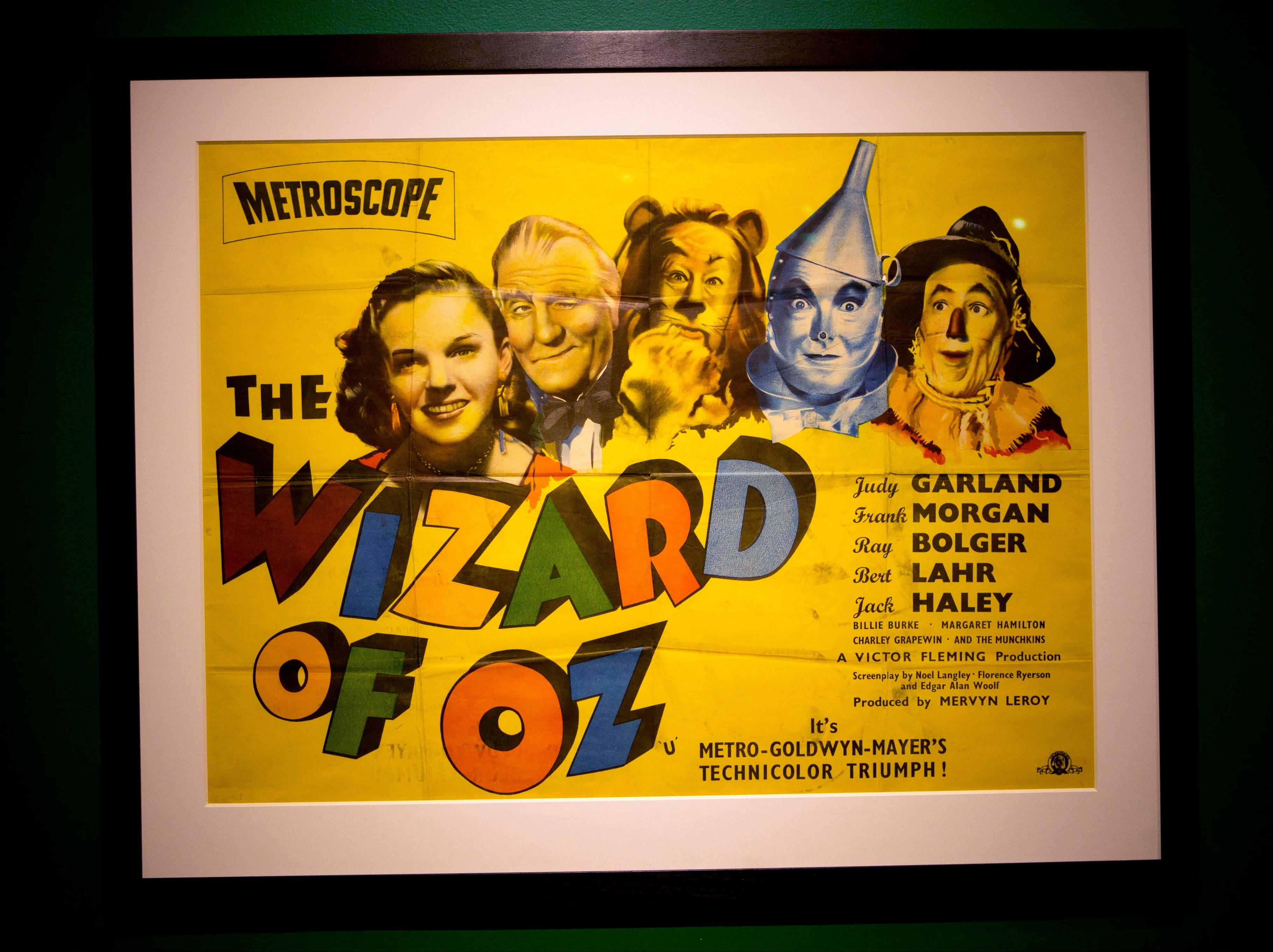 "The hourglass used in the movie ""The Wizard of Oz"" is displayed at the Farnsworth Museum, in Rockland, Maine. The world's largest collection of materials from the movie is being exhibited a few months after the release of a prequel to the original film."