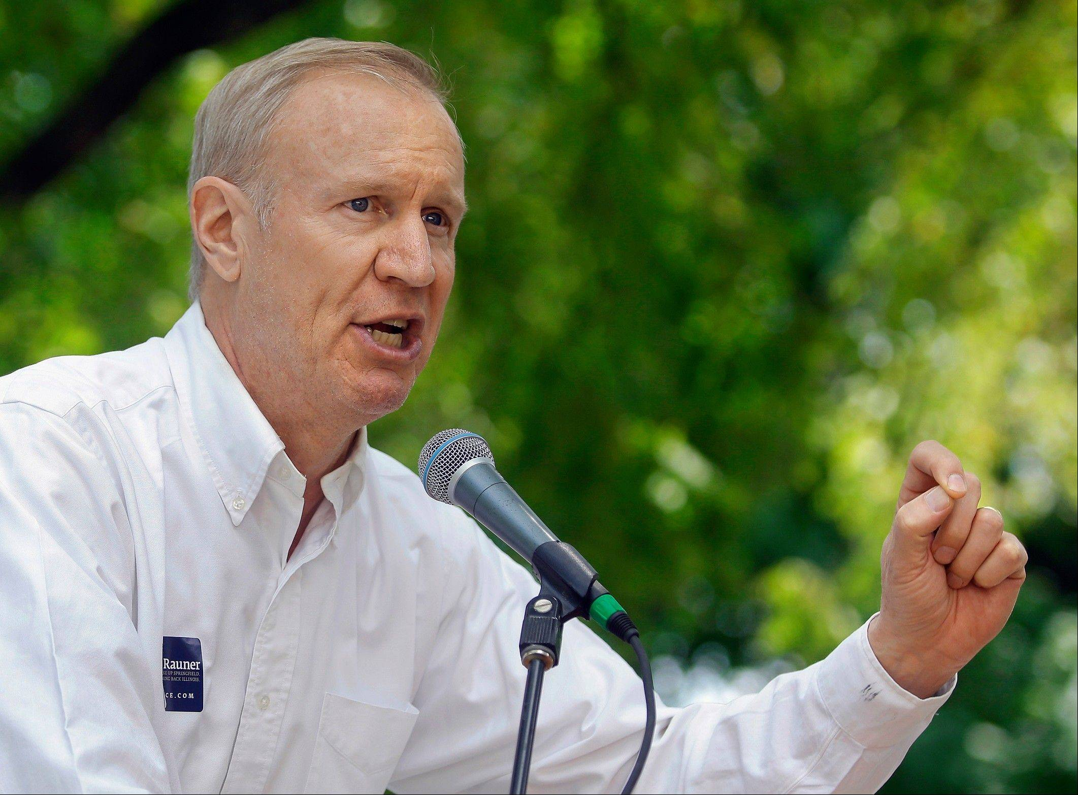 Businessman Bruce Rauner