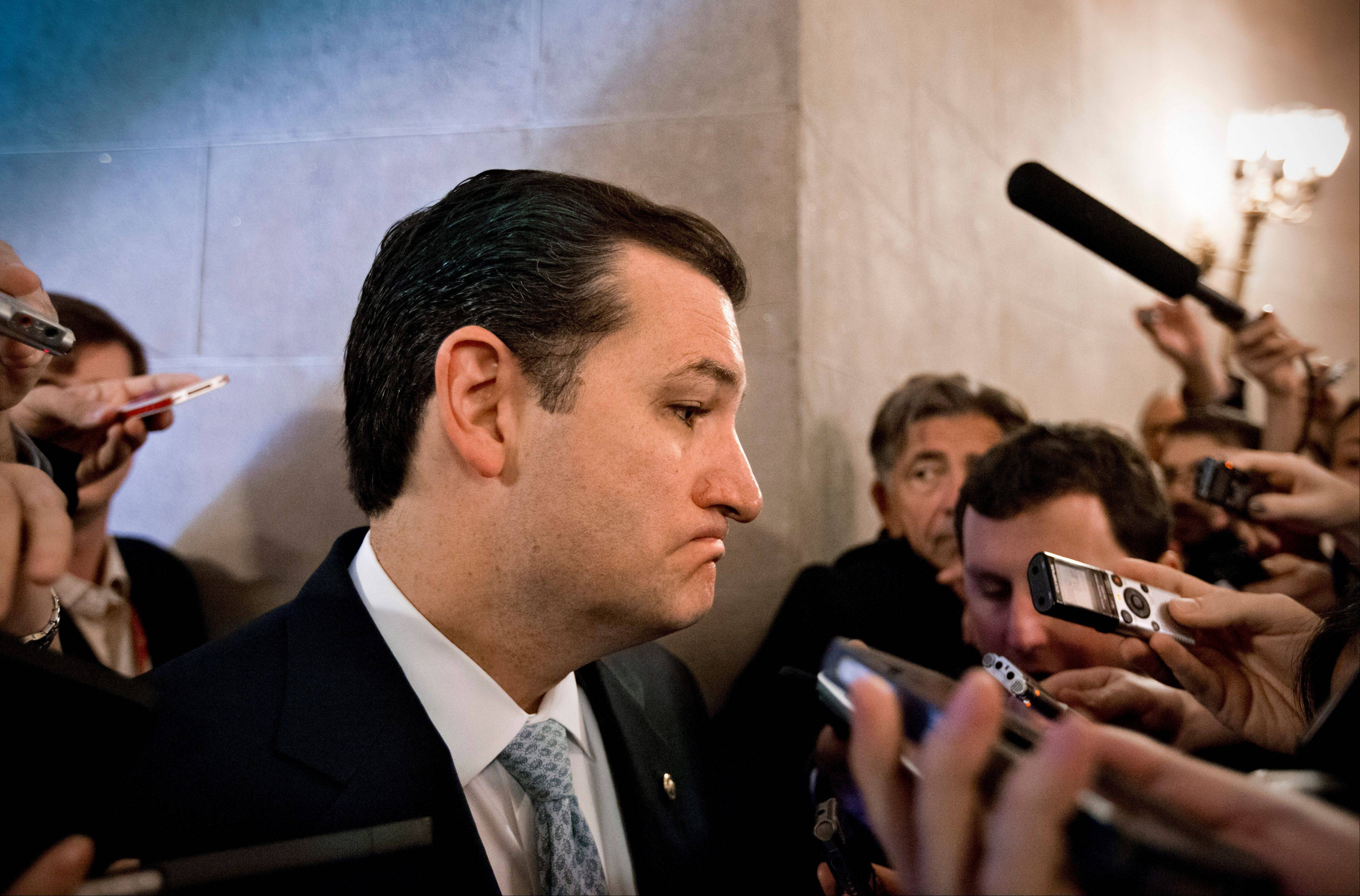 Cruz won't delay vote on bipartisan budget deal